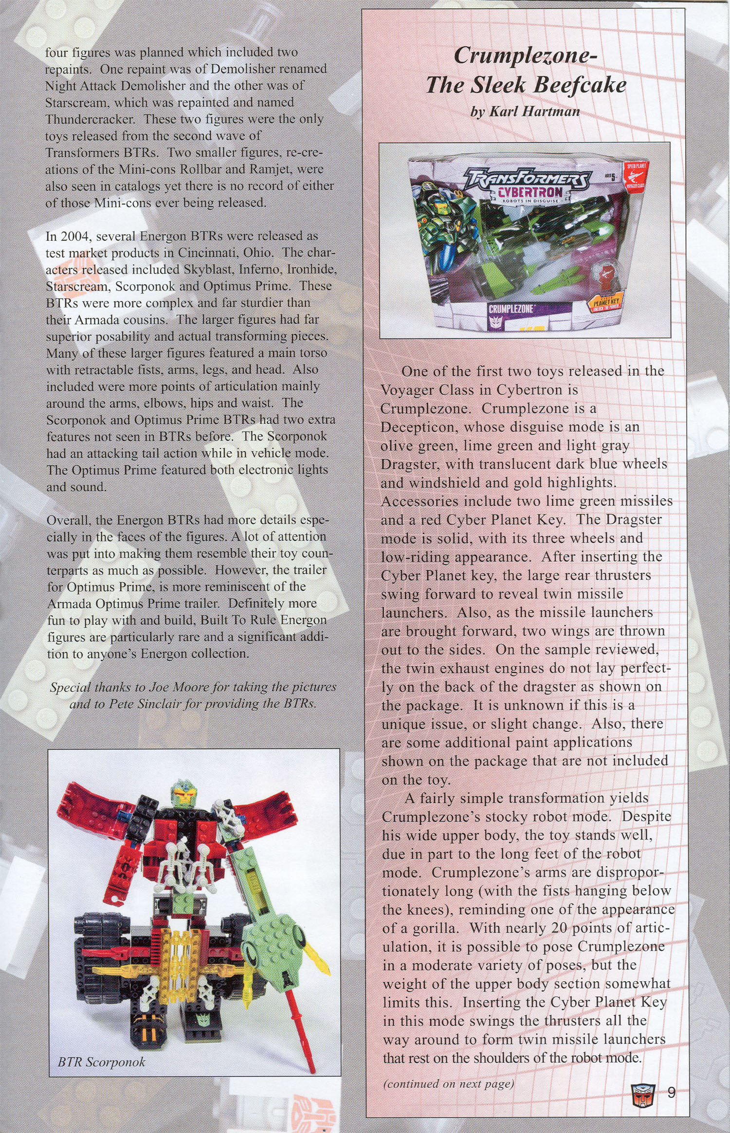 Read online Transformers: Collectors' Club comic -  Issue #3 - 9
