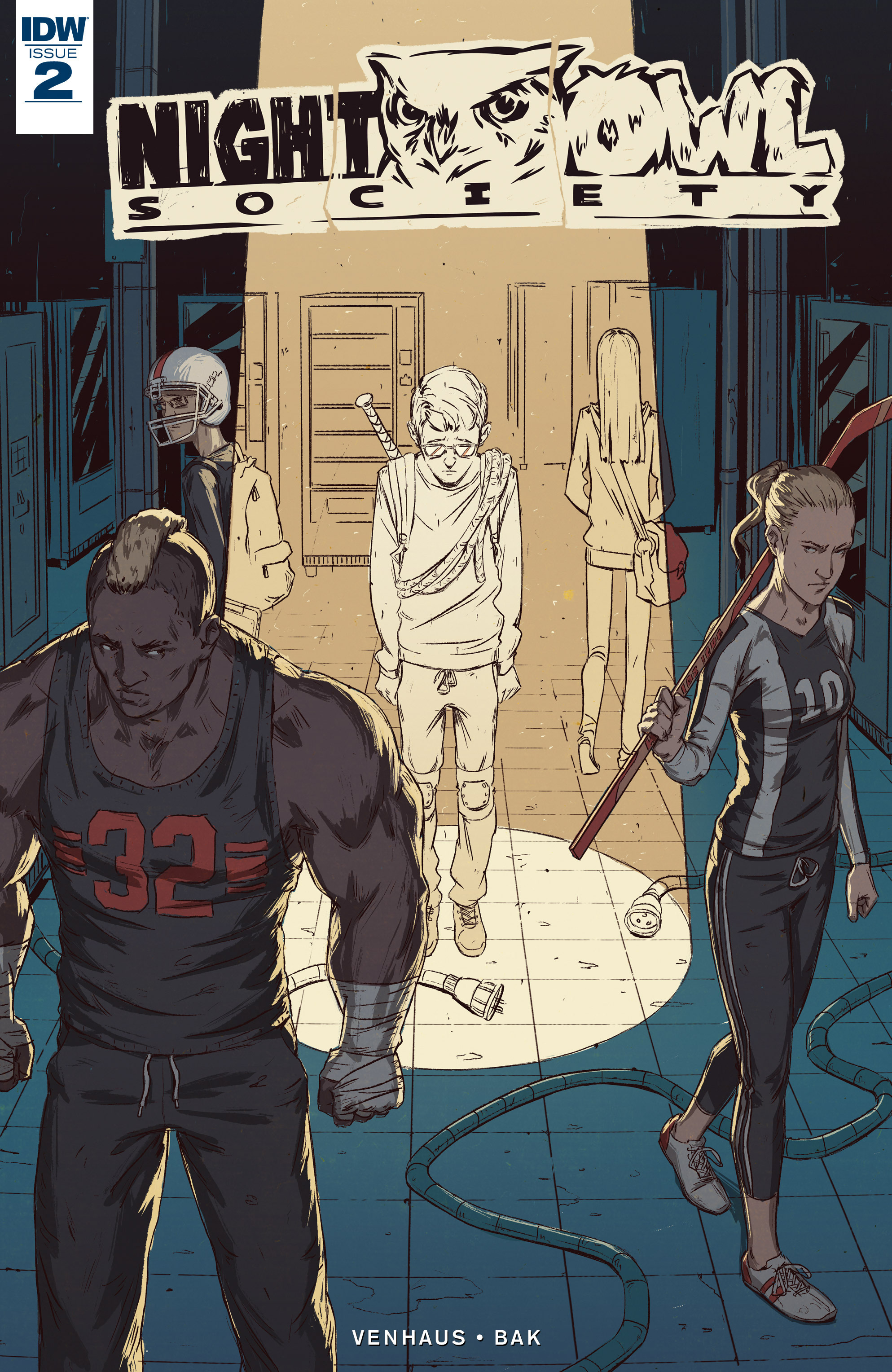Read online Night Owl Society comic -  Issue #2 - 1
