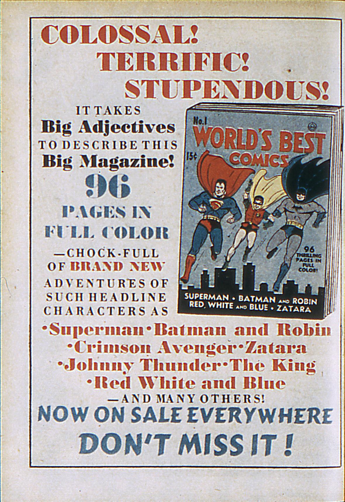 Read online Adventure Comics (1938) comic -  Issue #61 - 67