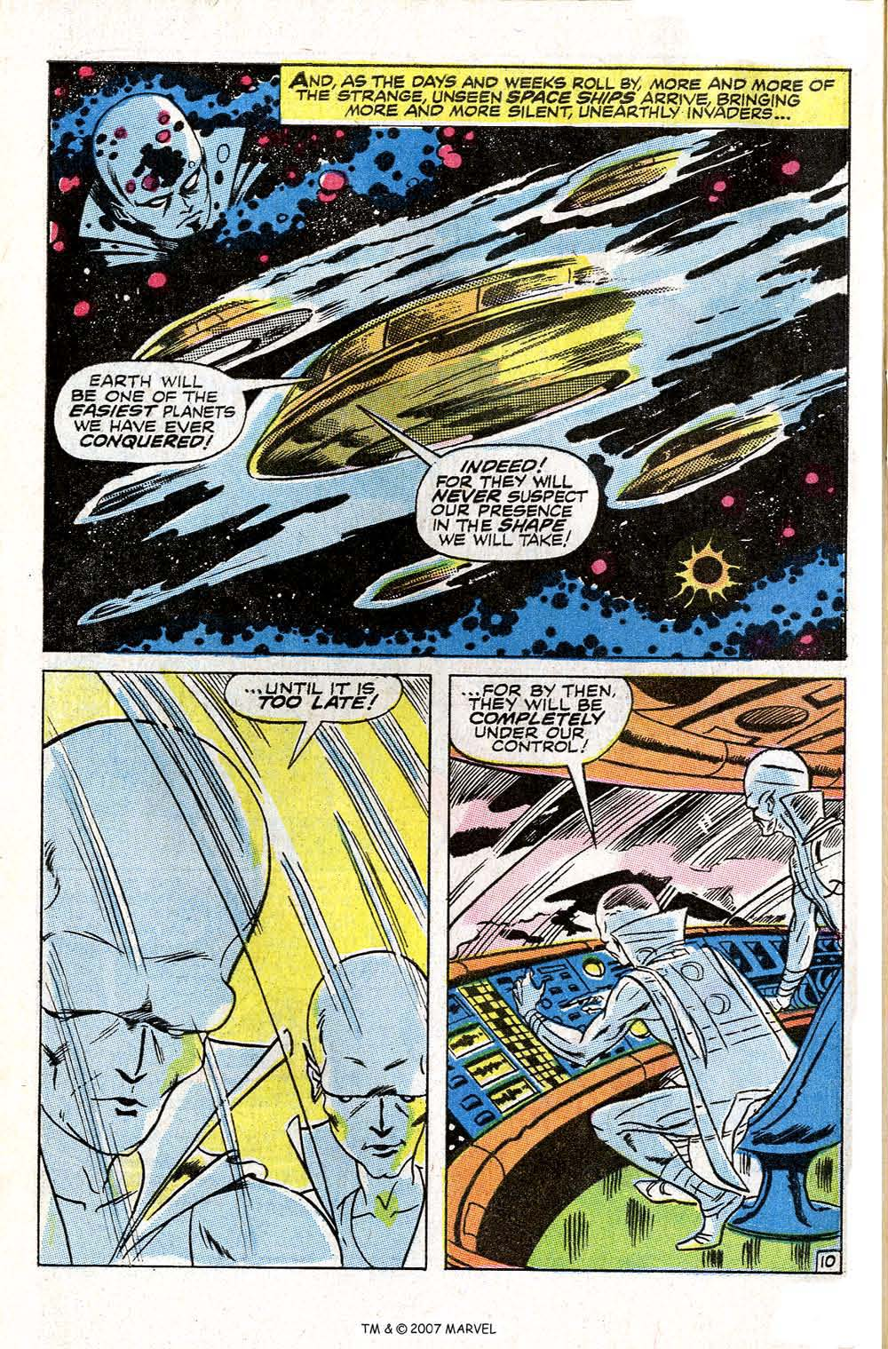 Read online Silver Surfer (1968) comic -  Issue #6 - 62