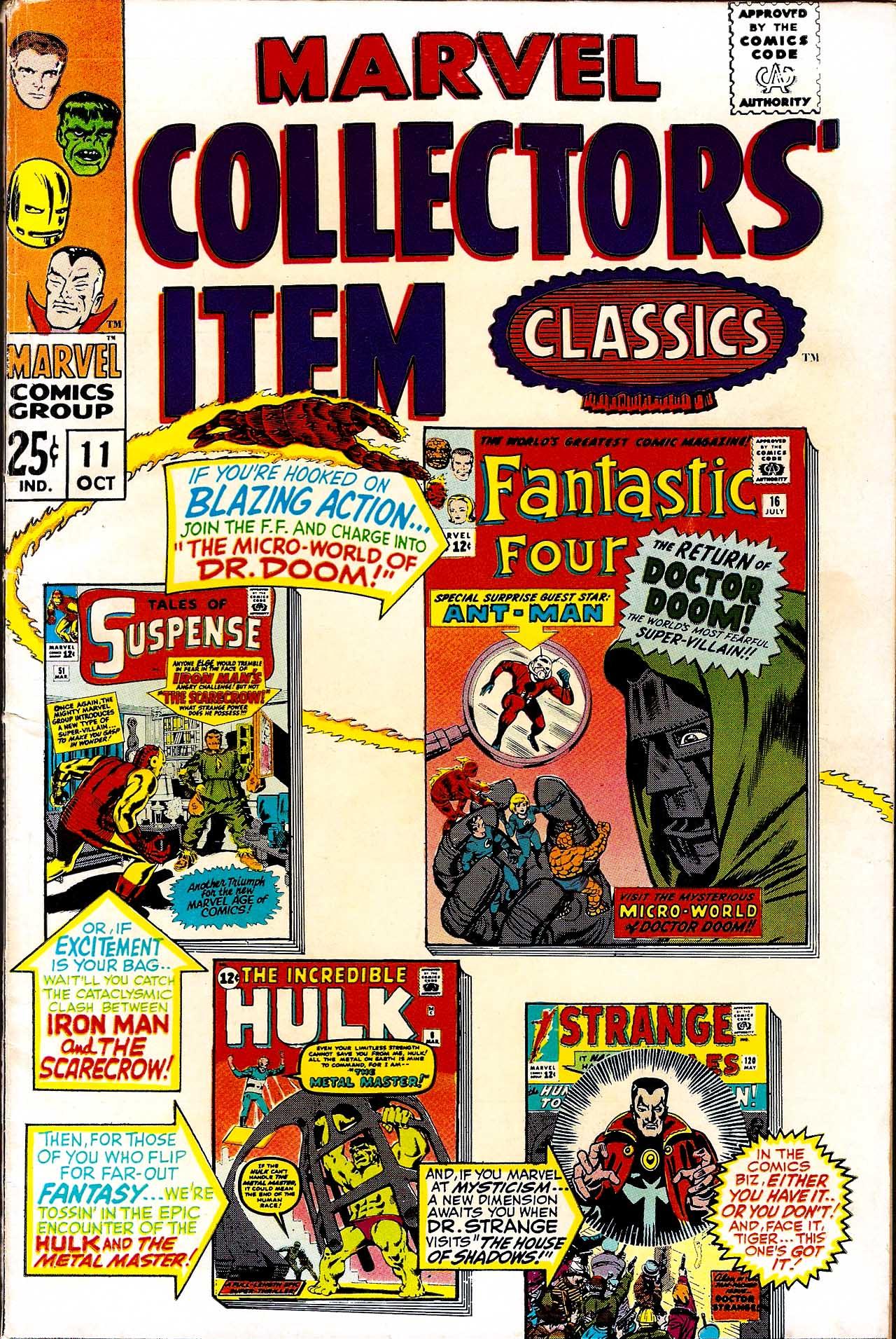 Marvel Collectors Item Classics 11 Page 1