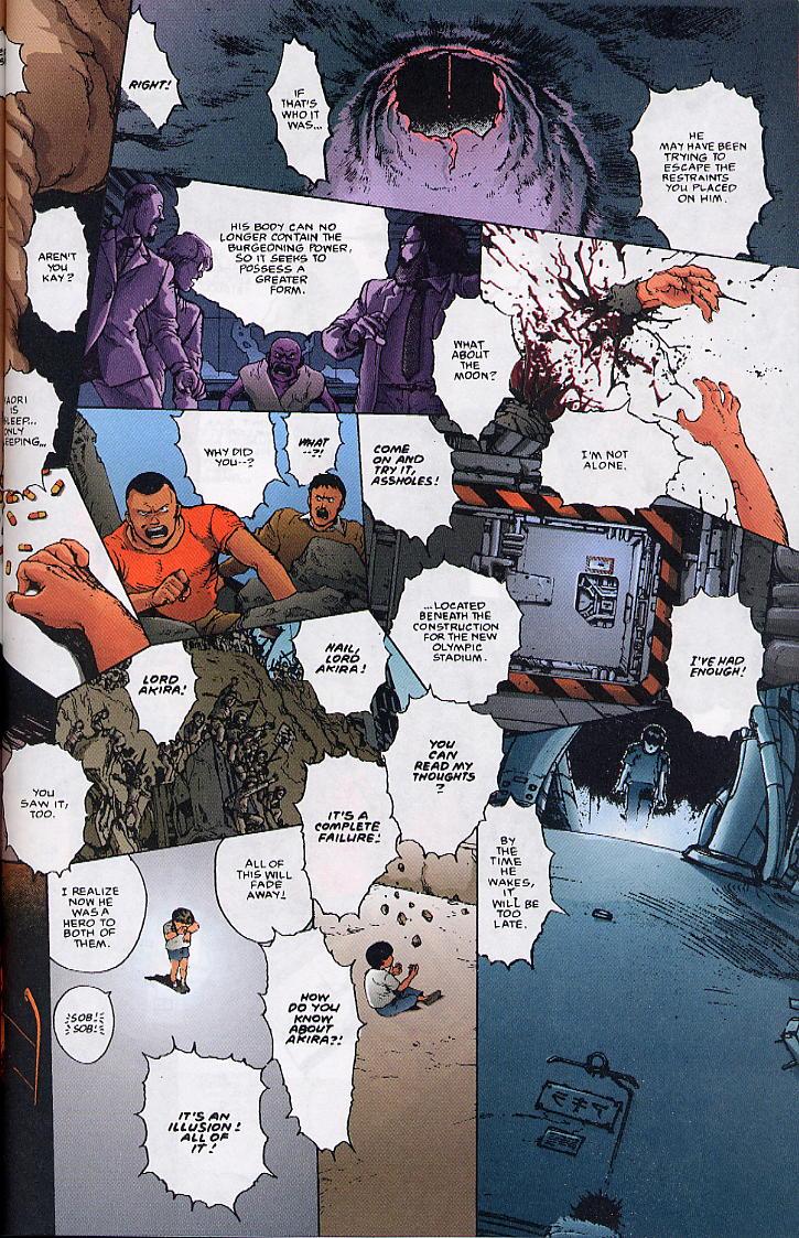 Read online Akira comic -  Issue #36 - 74