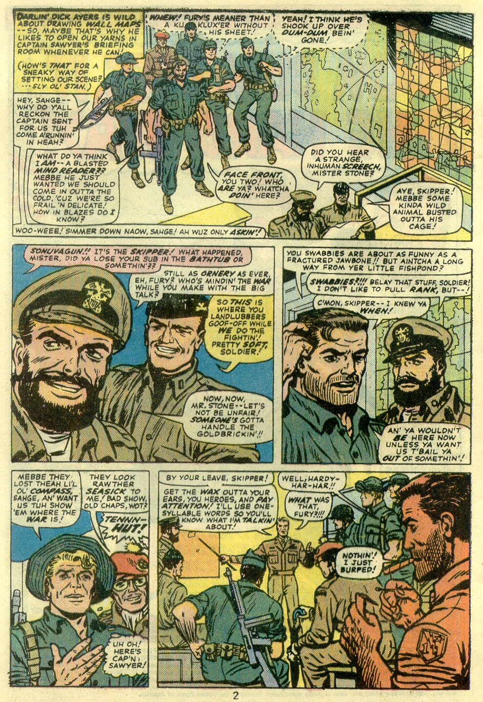 Read online Sgt. Fury comic -  Issue #128 - 4