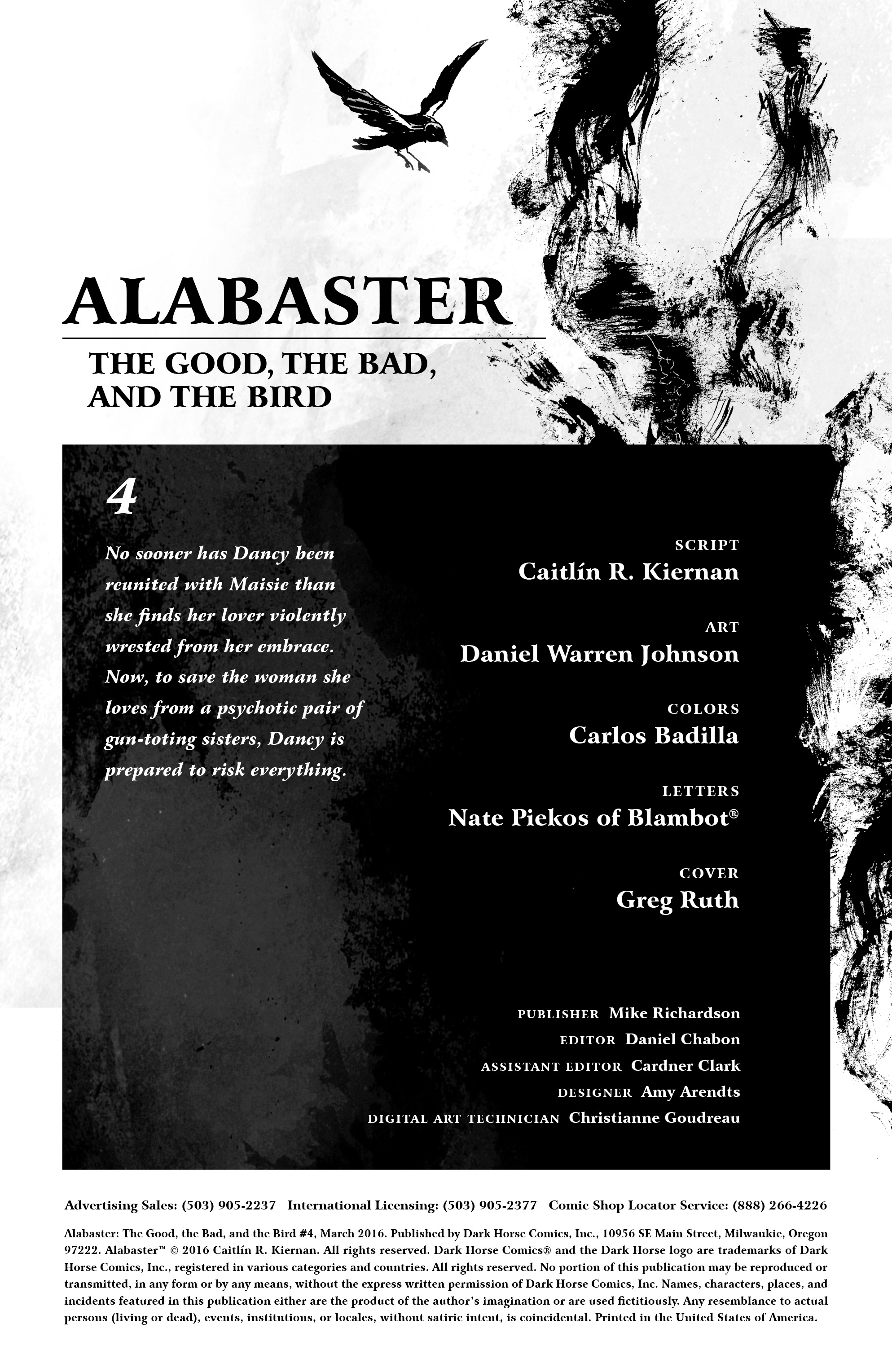 Read online Alabaster: The Good, the Bad and the Bird comic -  Issue #4 - 2