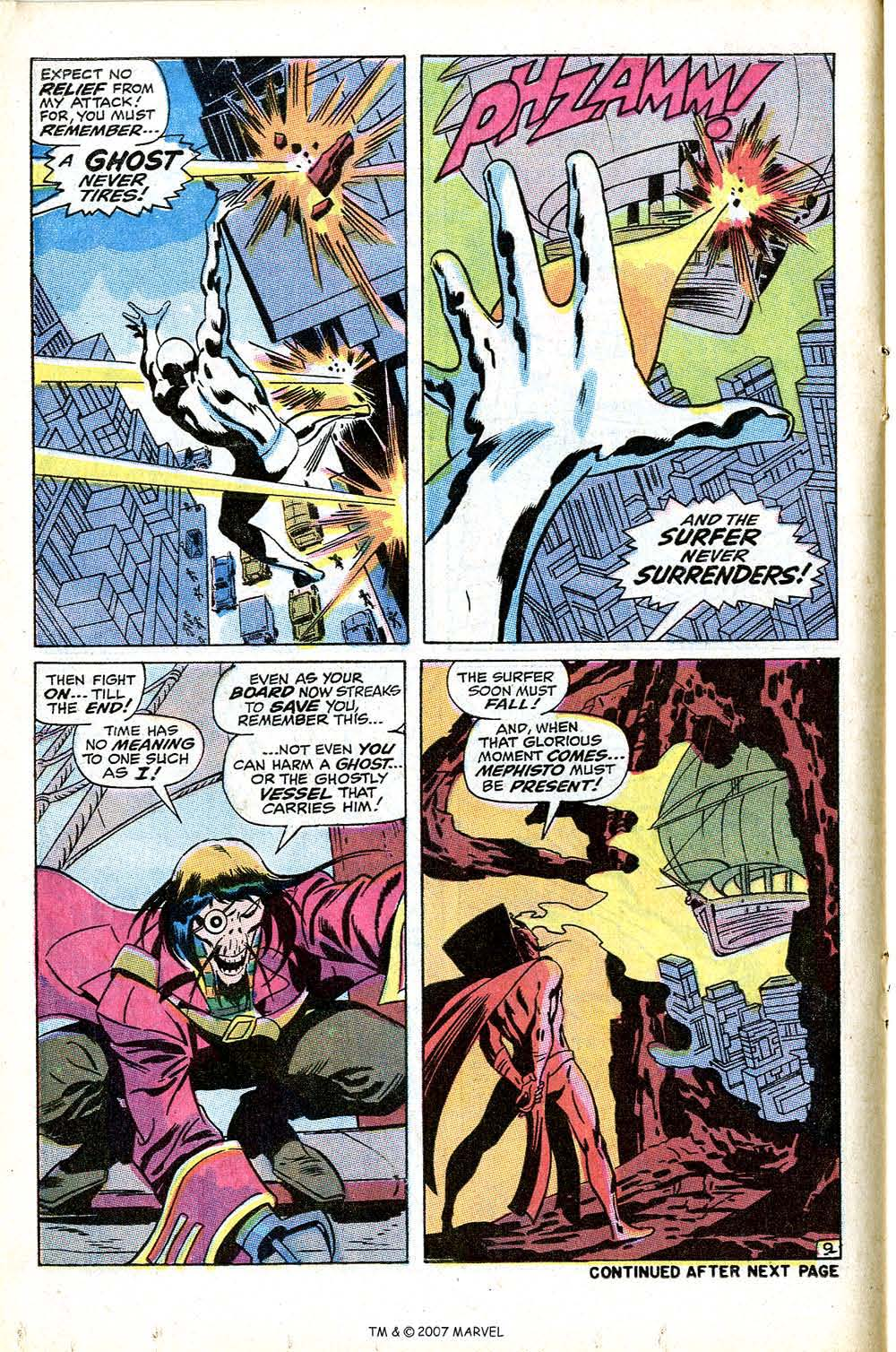 Silver Surfer (1968) Issue #9 #9 - English 14