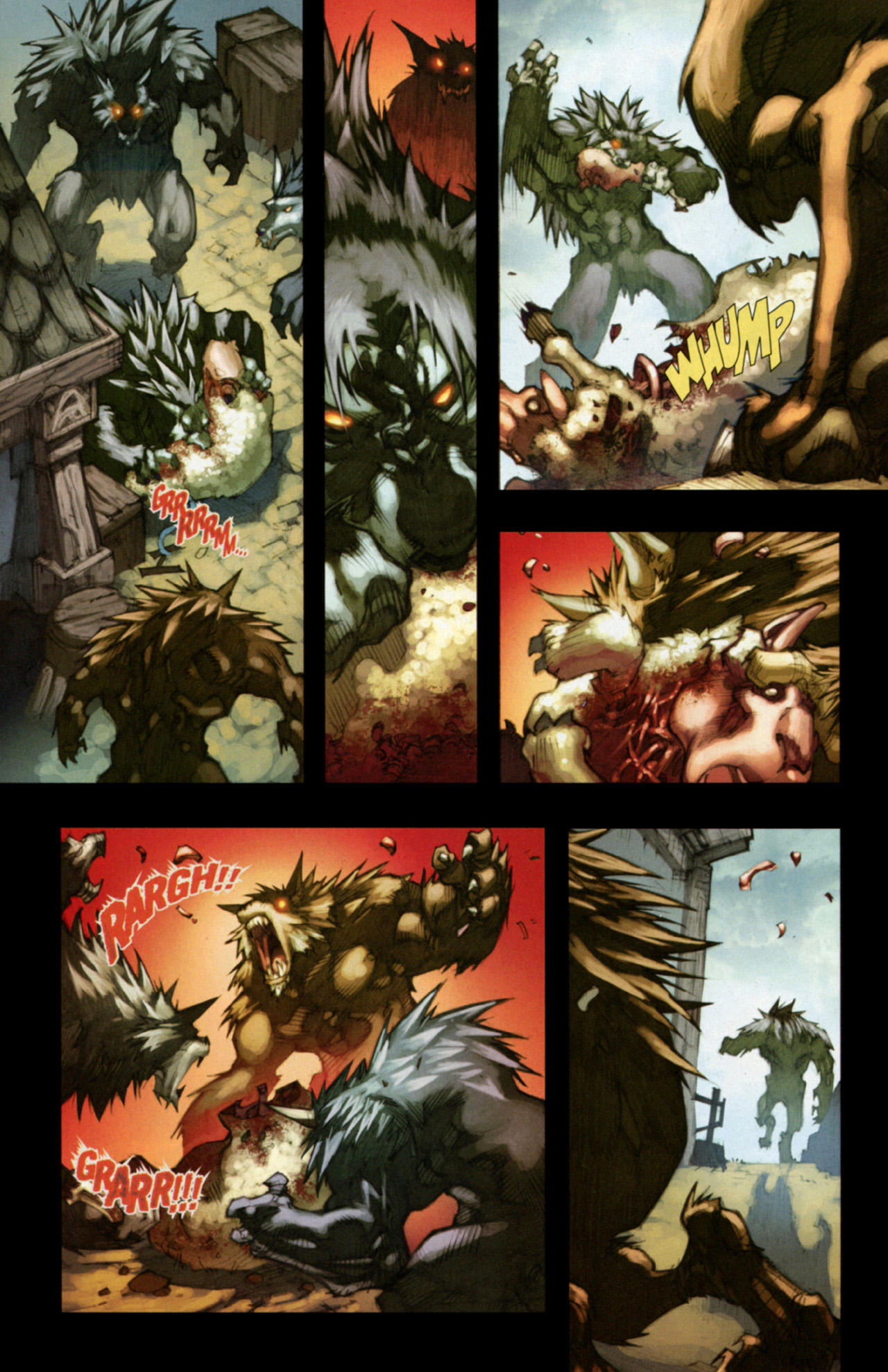 Read online World of Warcraft: Curse of the Worgen comic -  Issue #3 - 6