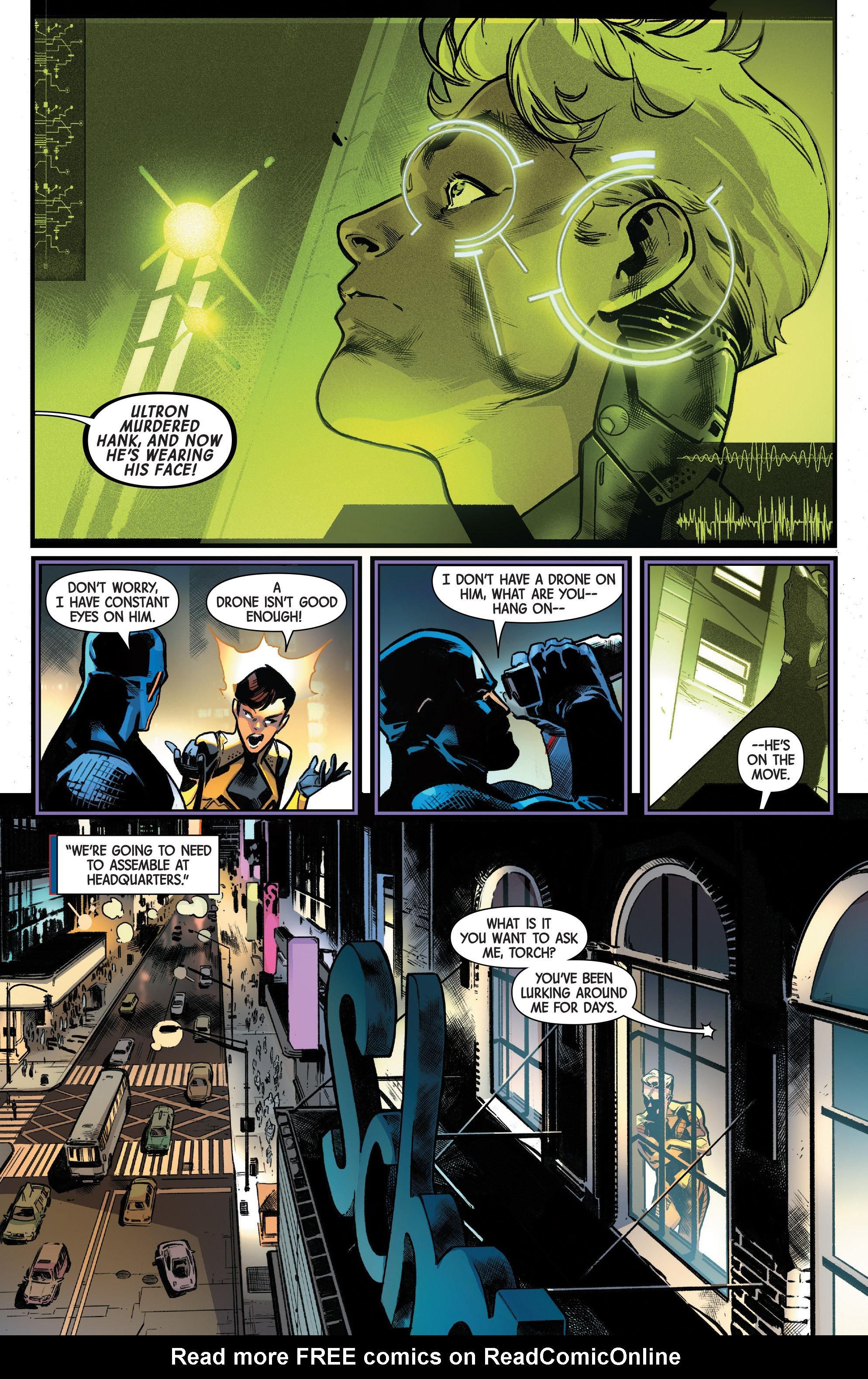 Read online Uncanny Avengers [II] comic -  Issue #10 - 13