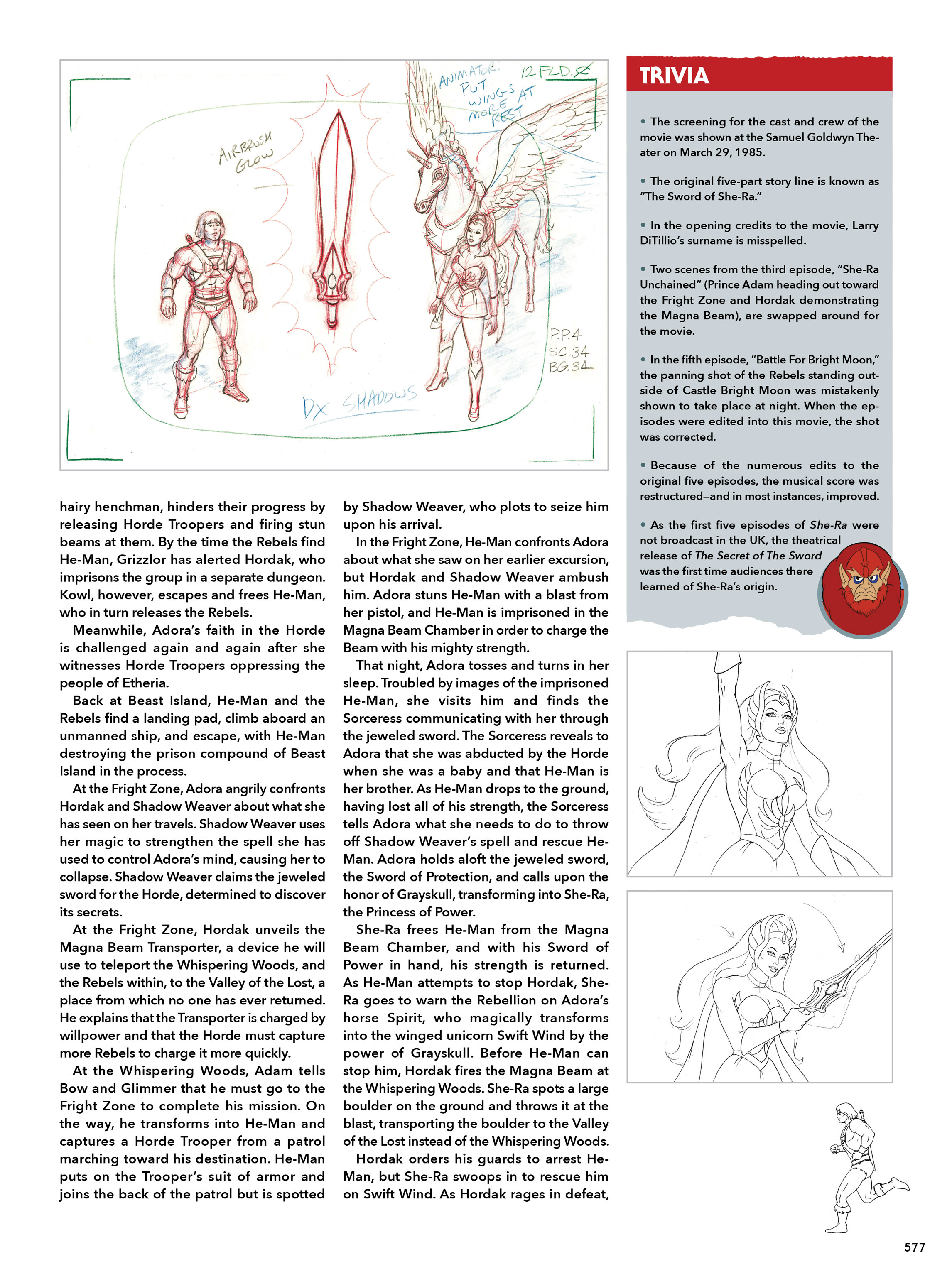 Read online He-Man and She-Ra: A Complete Guide to the Classic Animated Adventures comic -  Issue # TPB (Part 3) - 177