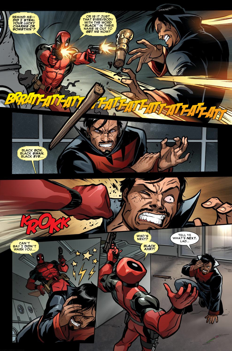 Read online Deadpool (2008) comic -  Issue #59 - 7