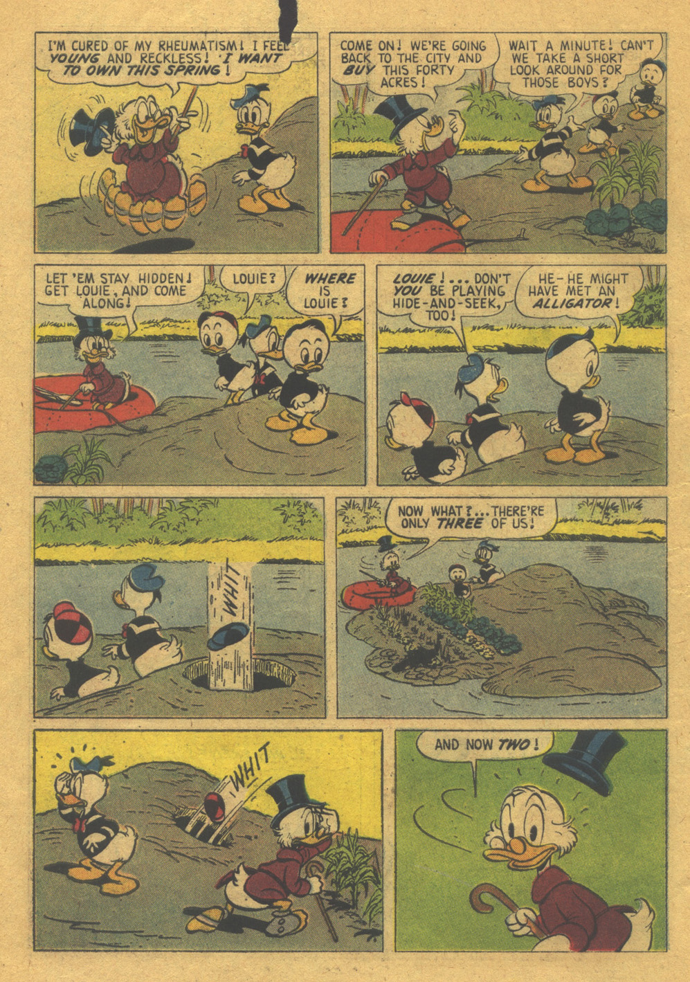 Read online Uncle Scrooge (1953) comic -  Issue #32 - 10