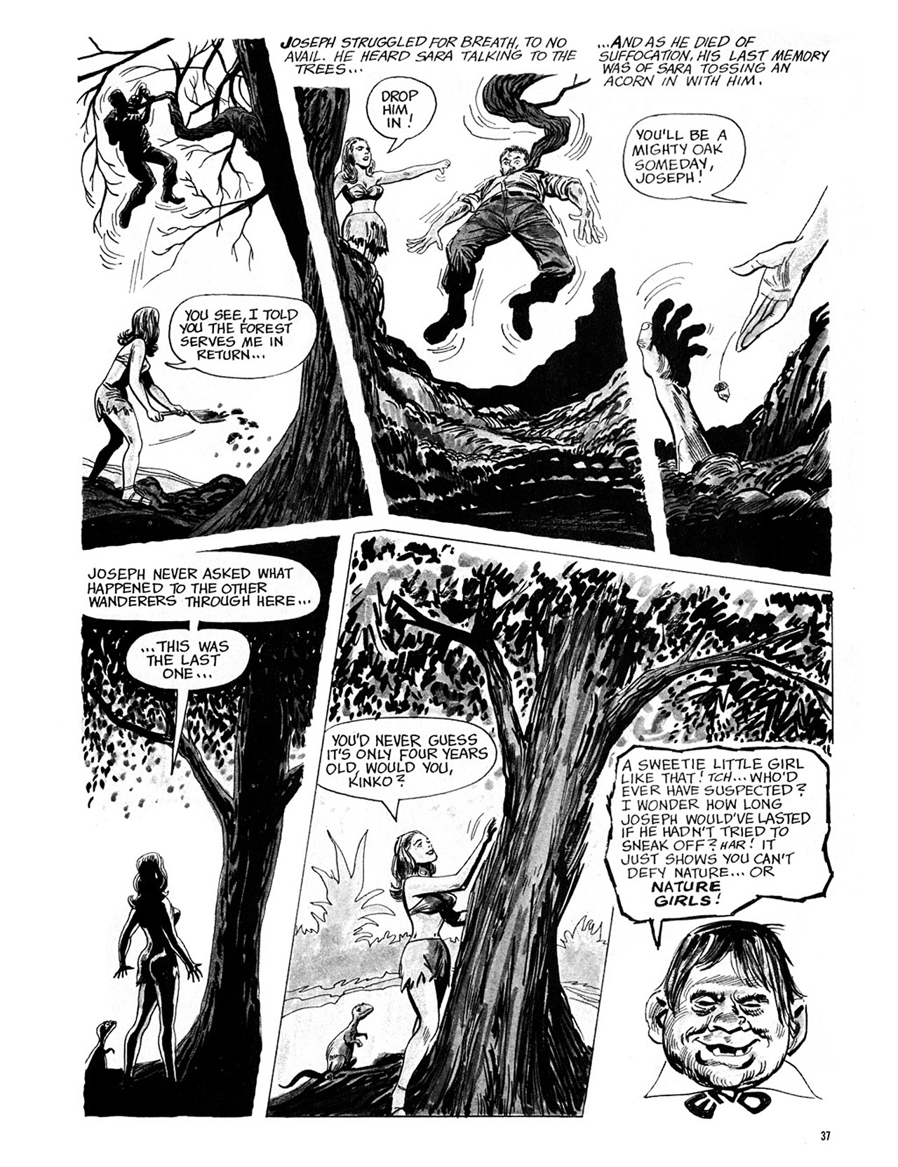 Read online Eerie Archives comic -  Issue # TPB 4 - 38
