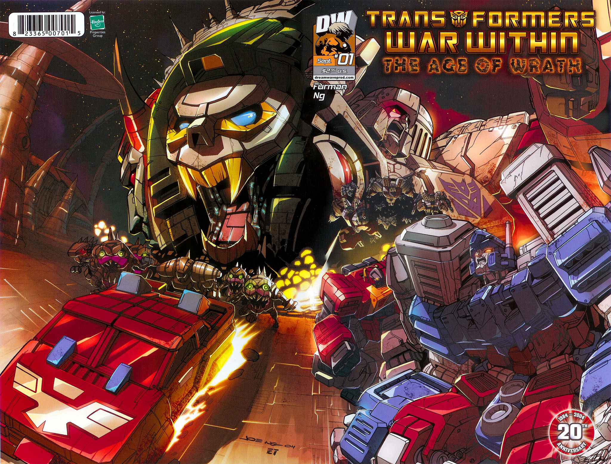 """Read online Transformers War Within: """"The Age of Wrath"""" comic -  Issue #1 - 2"""