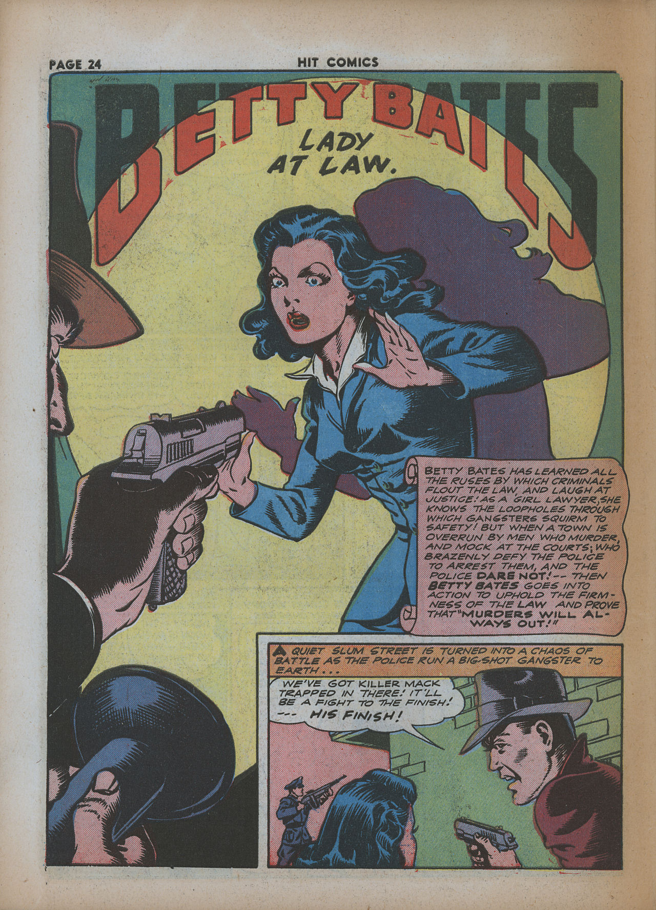 Read online Hit Comics comic -  Issue #26 - 26
