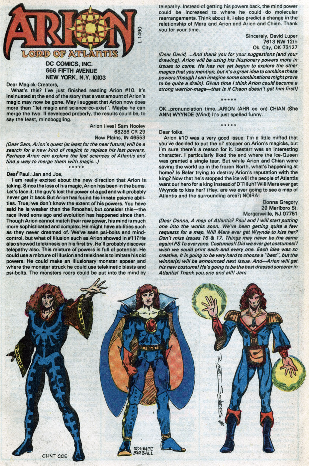 Read online Arion, Lord of Atlantis comic -  Issue #14 - 26