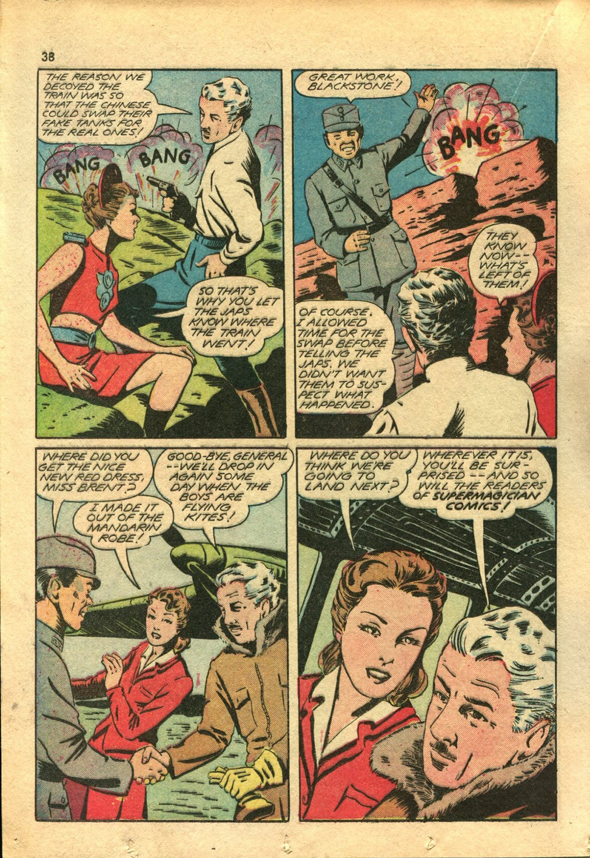 Read online Super-Magician Comics comic -  Issue #14 - 37