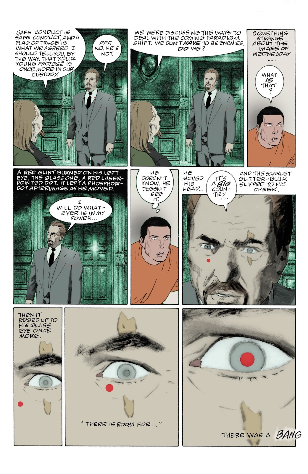 American Gods: My Ainsel issue 9 - Page 11