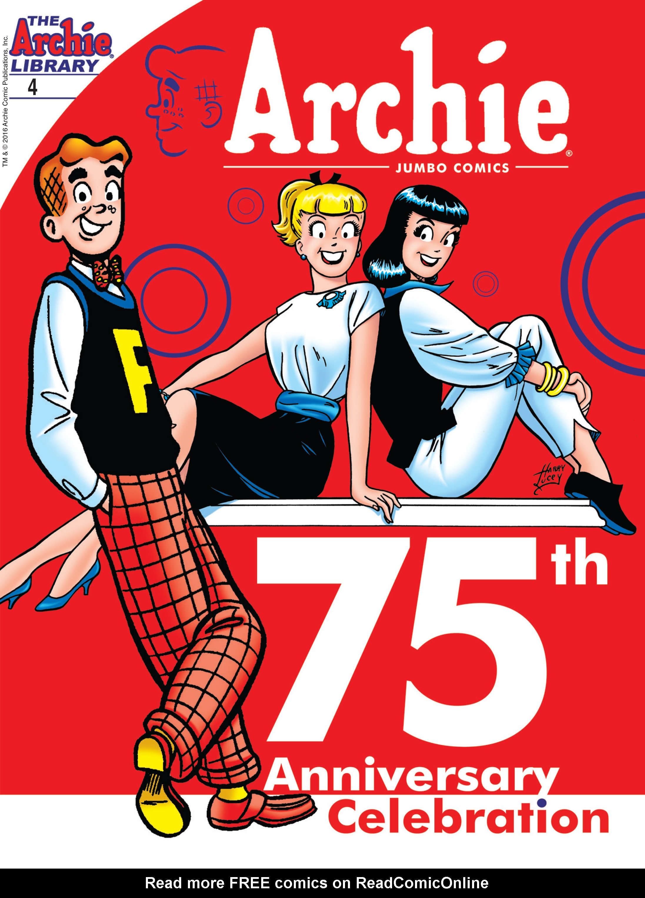 Read online Archie 75th Anniversary Digest comic -  Issue #4 - 1