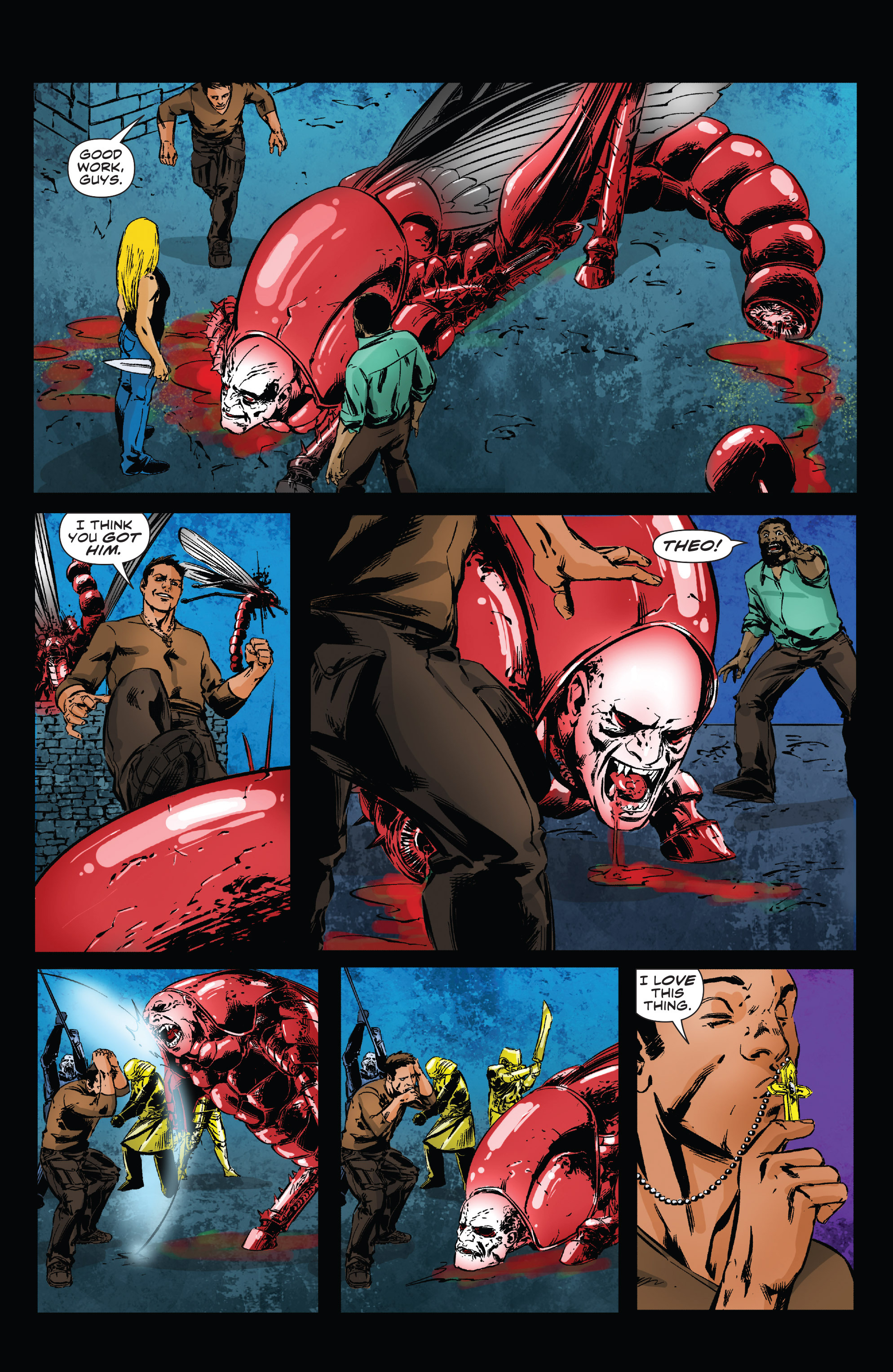 Read online Clive Barker's Hellraiser: The Dark Watch comic -  Issue # TPB 3 - 54