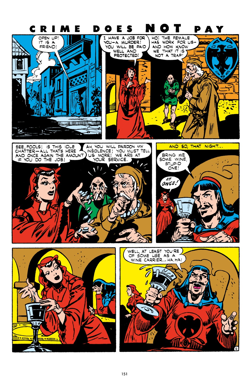 Read online Crime Does Not Pay Archives comic -  Issue # TPB 5 (Part 2) - 51