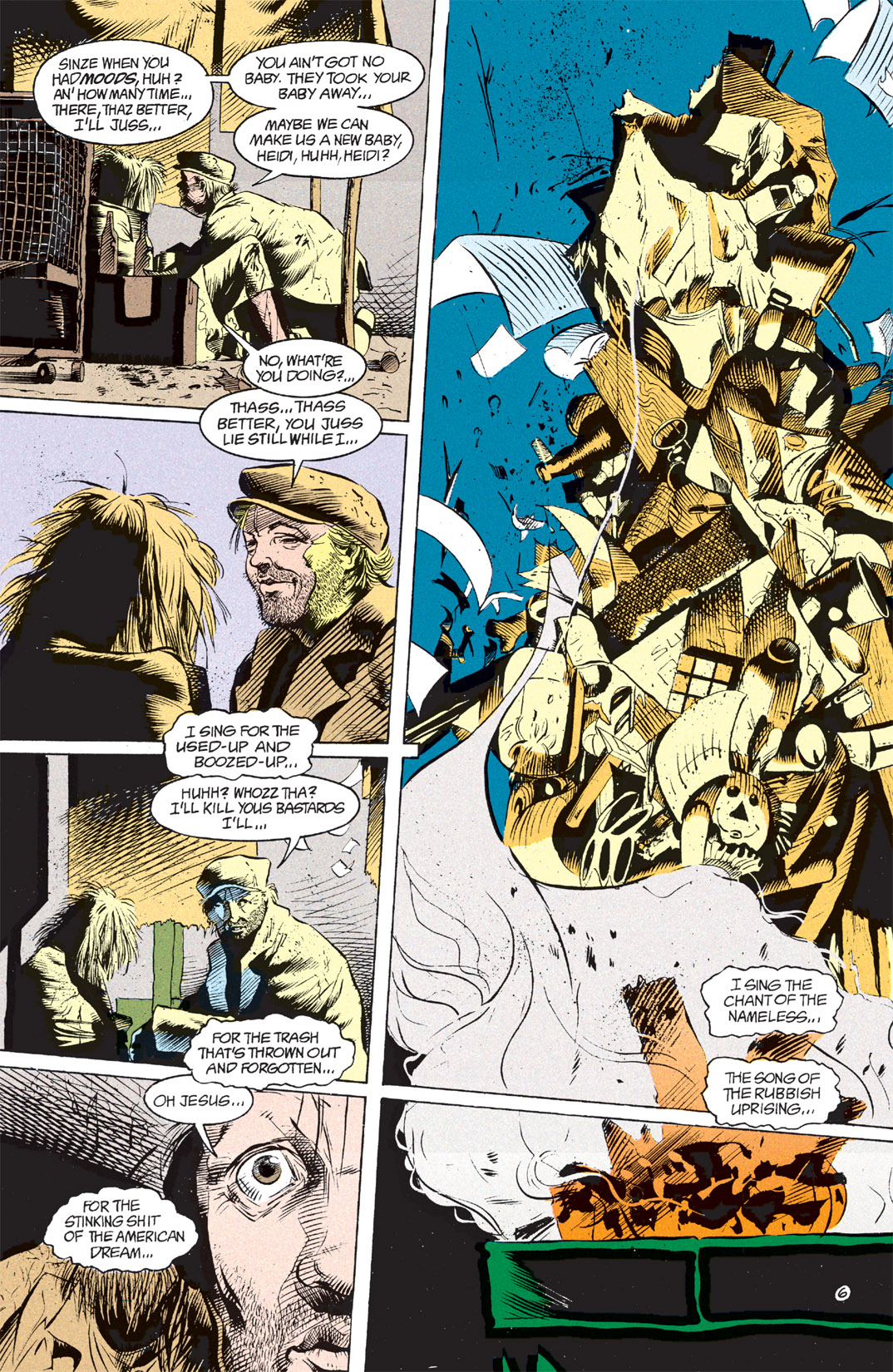 Read online Shade, the Changing Man comic -  Issue #7 - 7