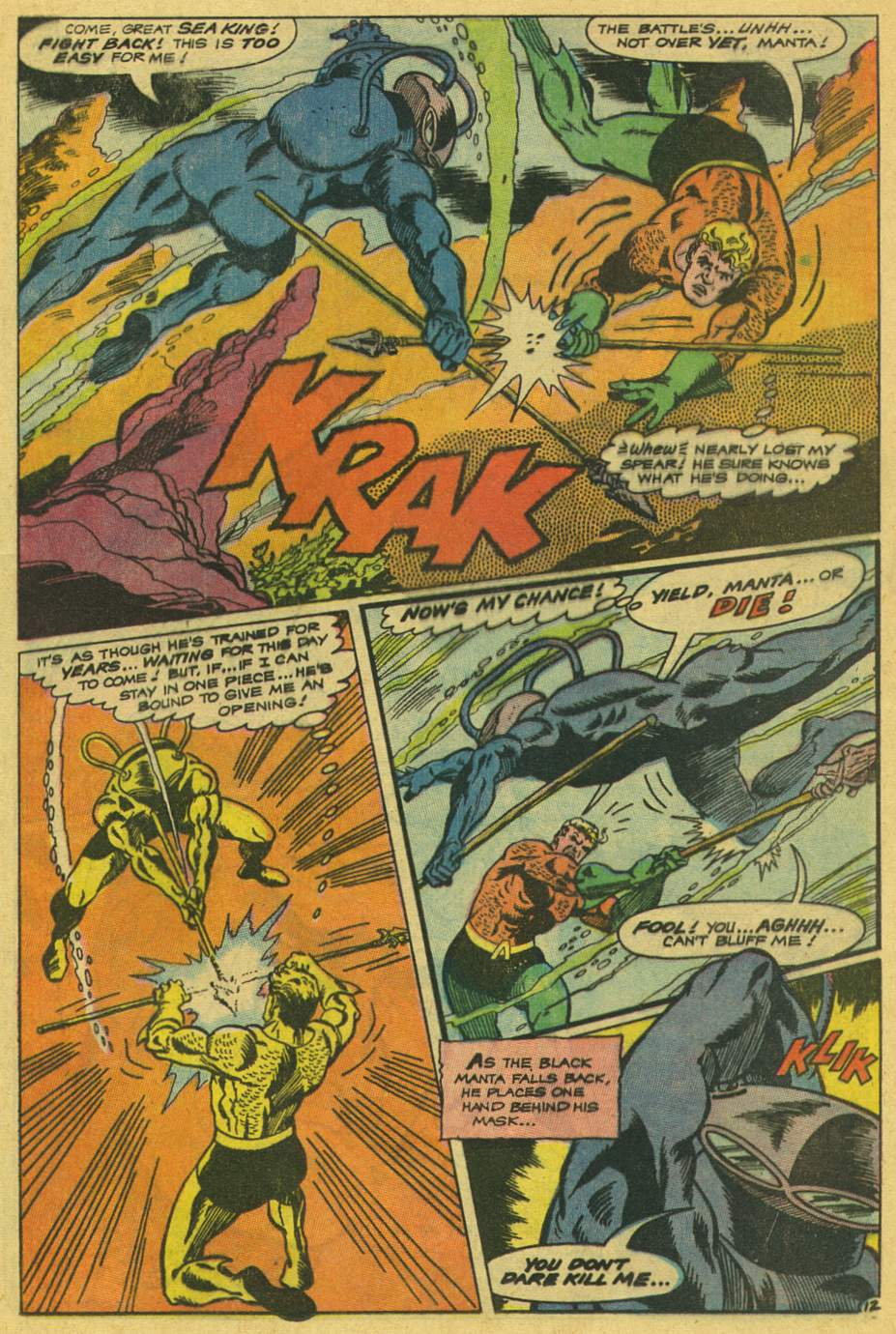 Read online Aquaman (1962) comic -  Issue #42 - 17