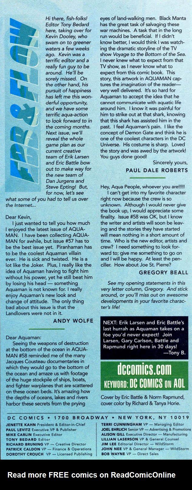 Read online Aquaman (1994) comic -  Issue #61 - 24