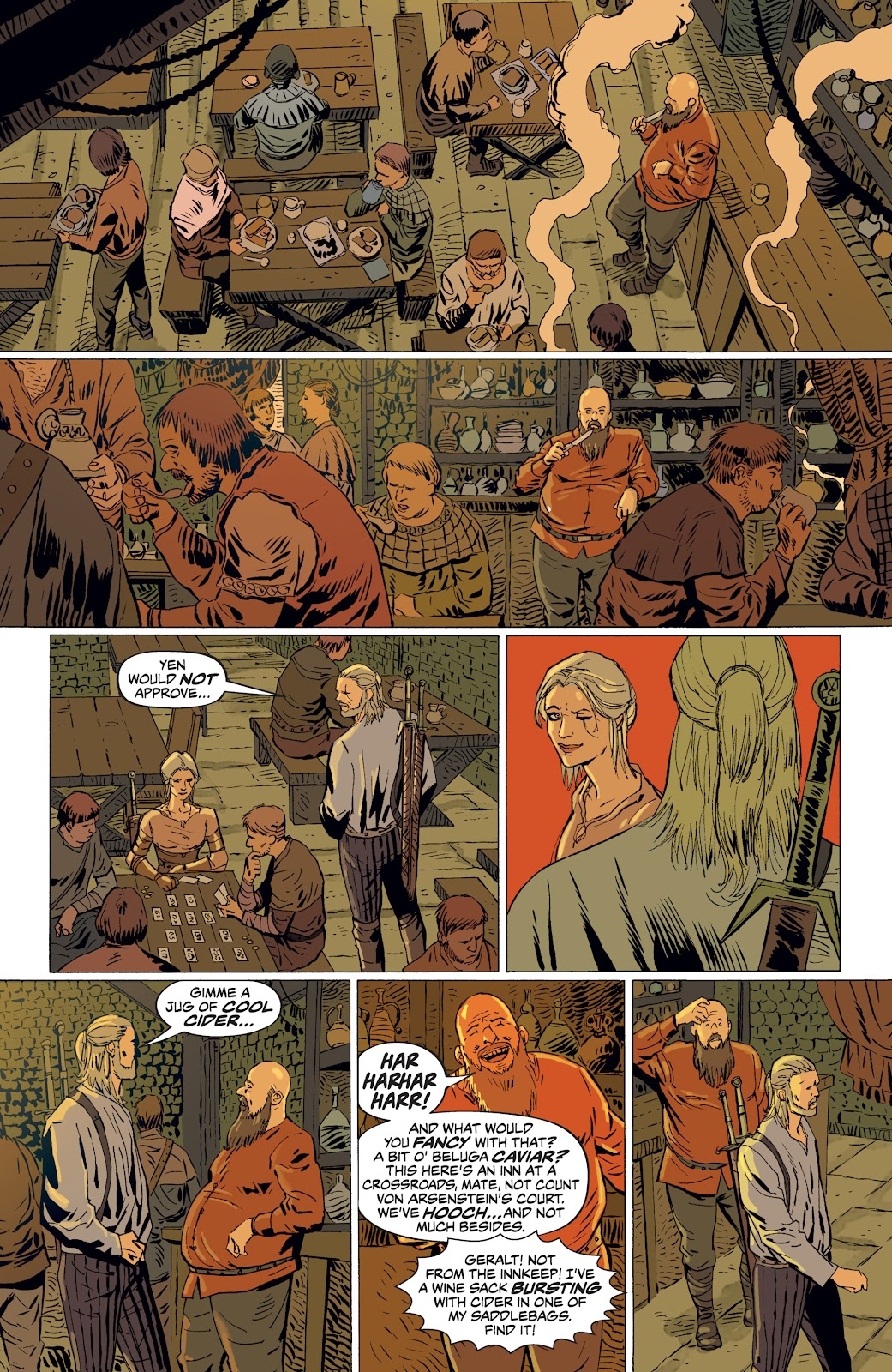 Read online The Witcher Omnibus comic -  Issue # TPB (Part 4) - 60