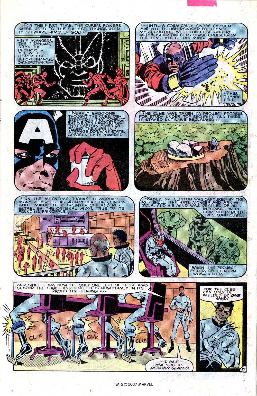 Read online Captain America (1968) comic -  Issue # _Annual 7 - 23