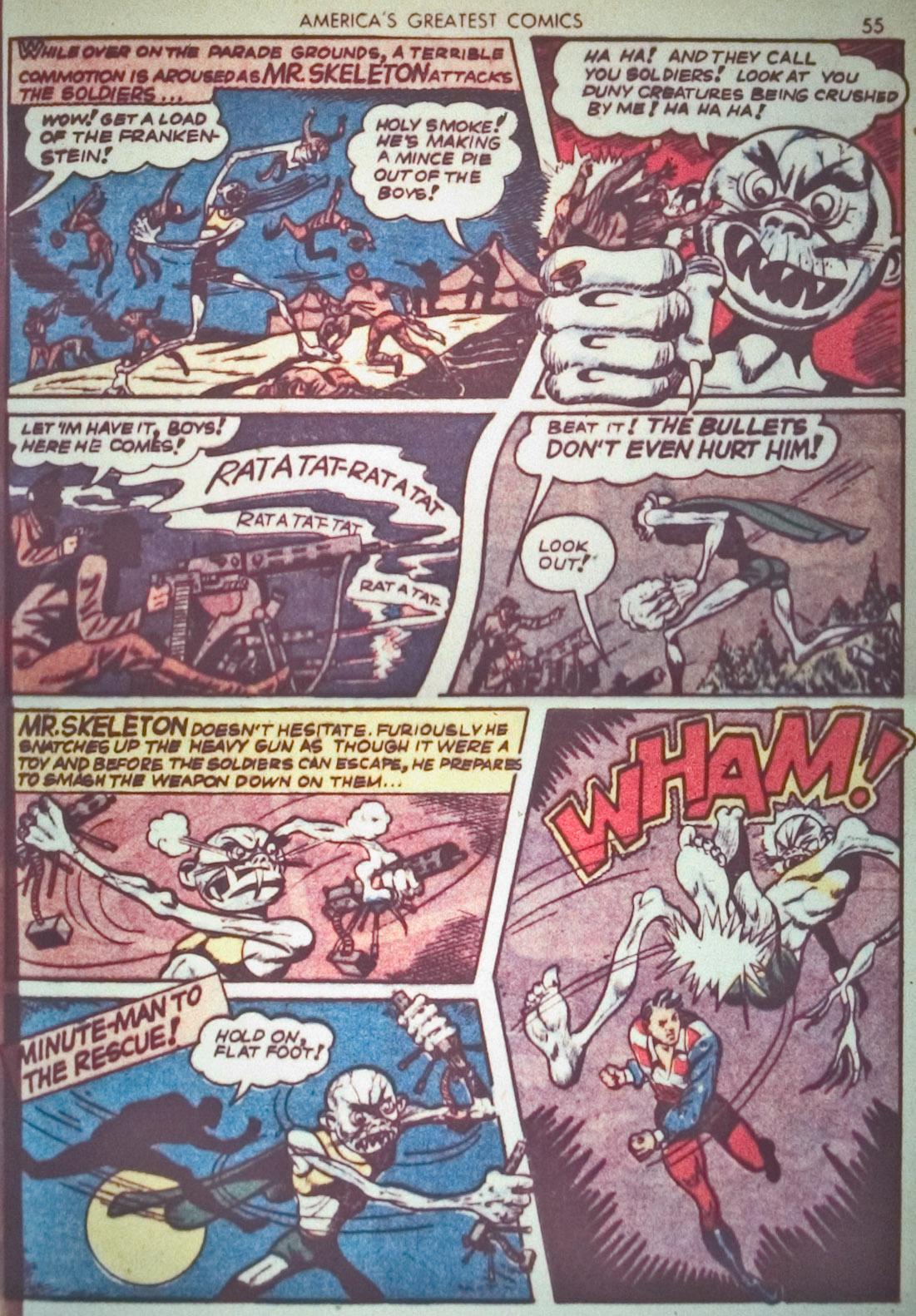 Read online America's Greatest Comics comic -  Issue #1 - 58