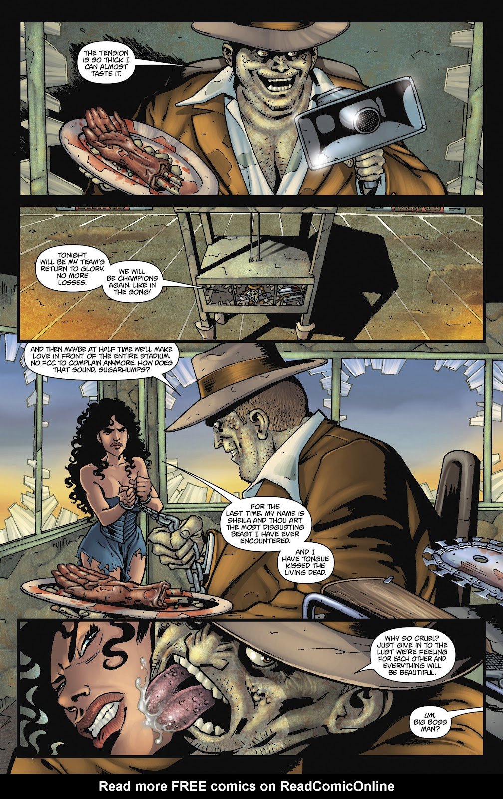 Army of Darkness: The Long Road Home issue TPB - Page 87