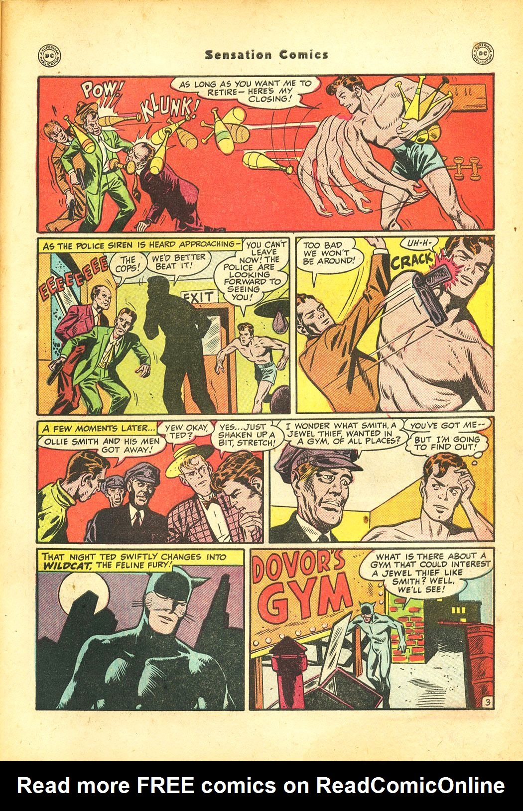 Read online Sensation (Mystery) Comics comic -  Issue #86 - 45