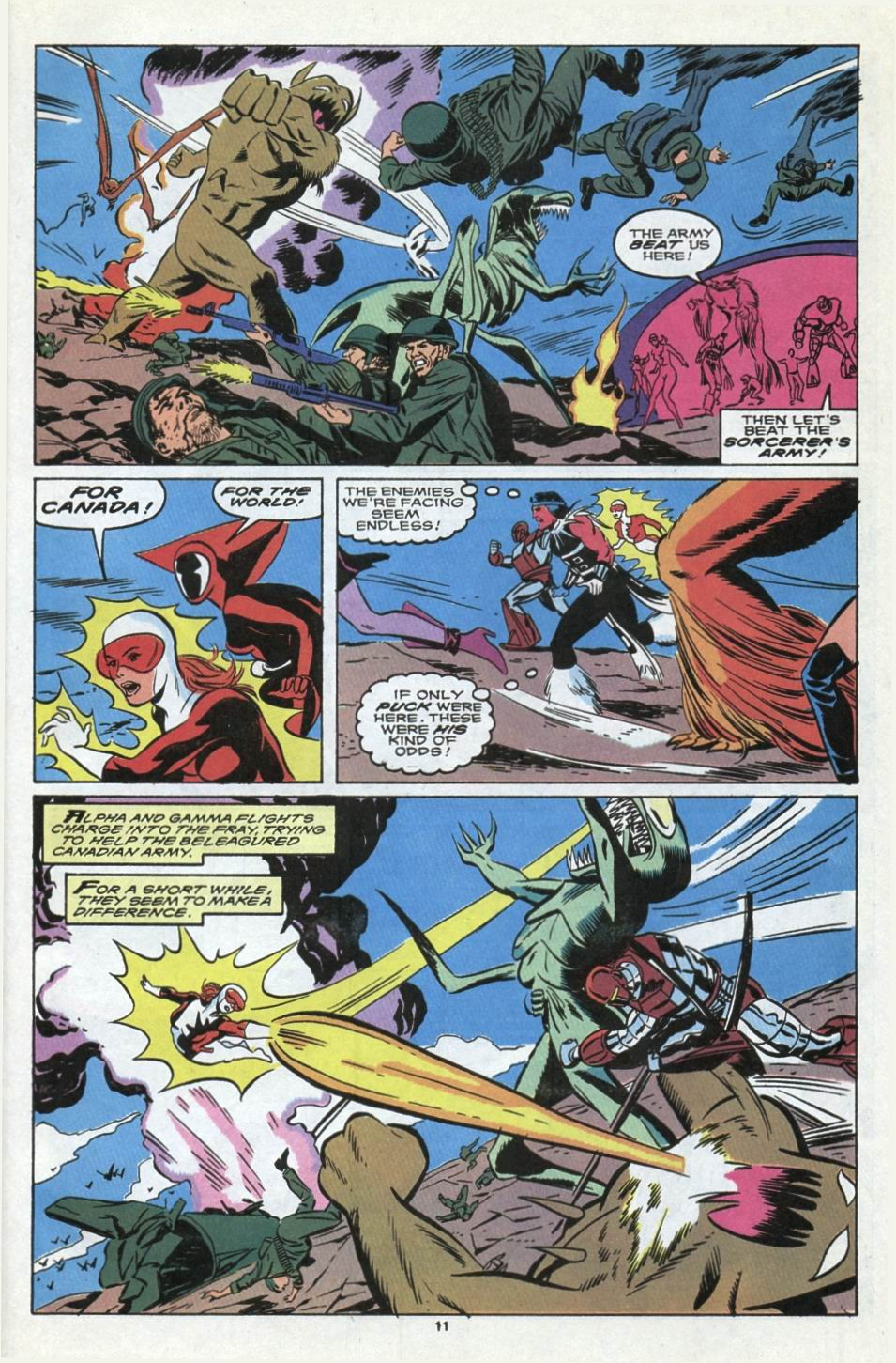 Read online Alpha Flight (1983) comic -  Issue #85 - 10