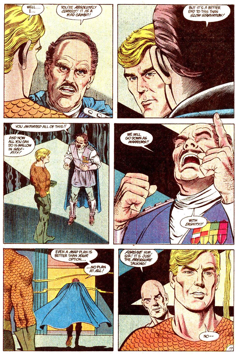 Read online Aquaman (1989) comic -  Issue #4 - 20