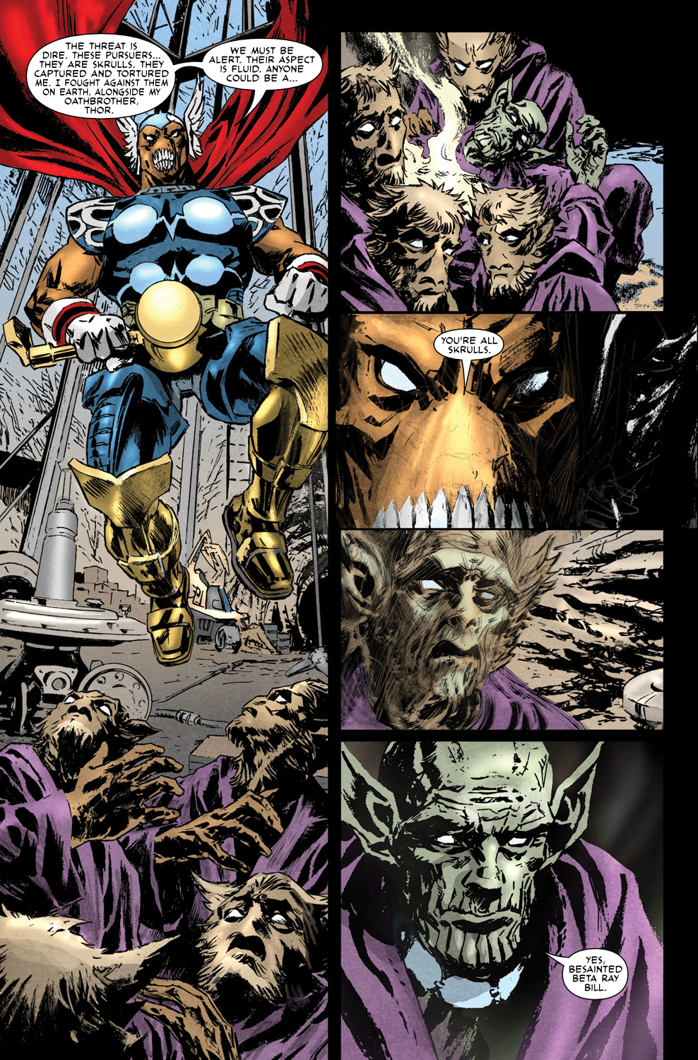 Read online Secret Invasion Aftermath: Beta Ray Bill - The Green of Eden comic -  Issue # Full - 12