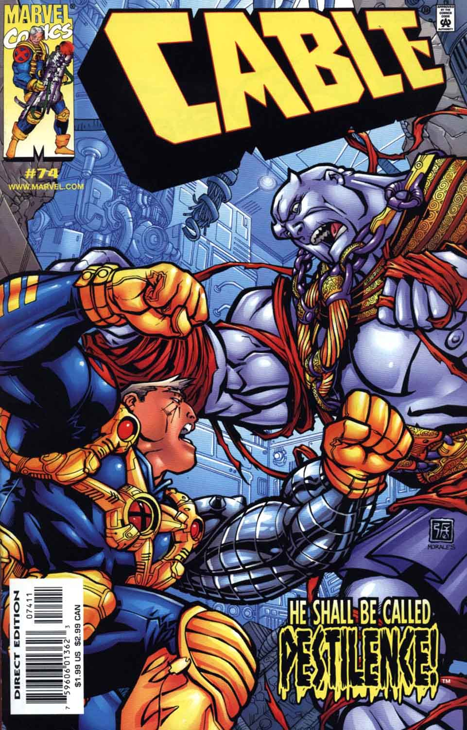 Cable (1993) 74 Page 1