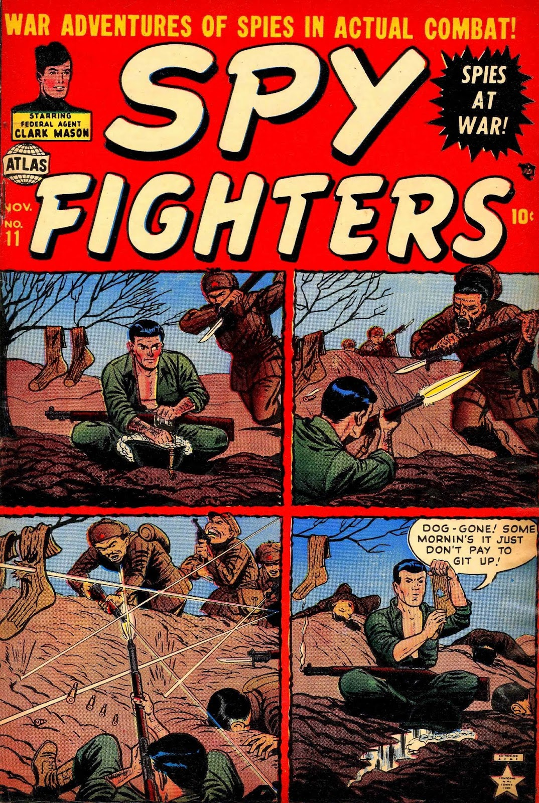 Spy Fighters issue 11 - Page 1
