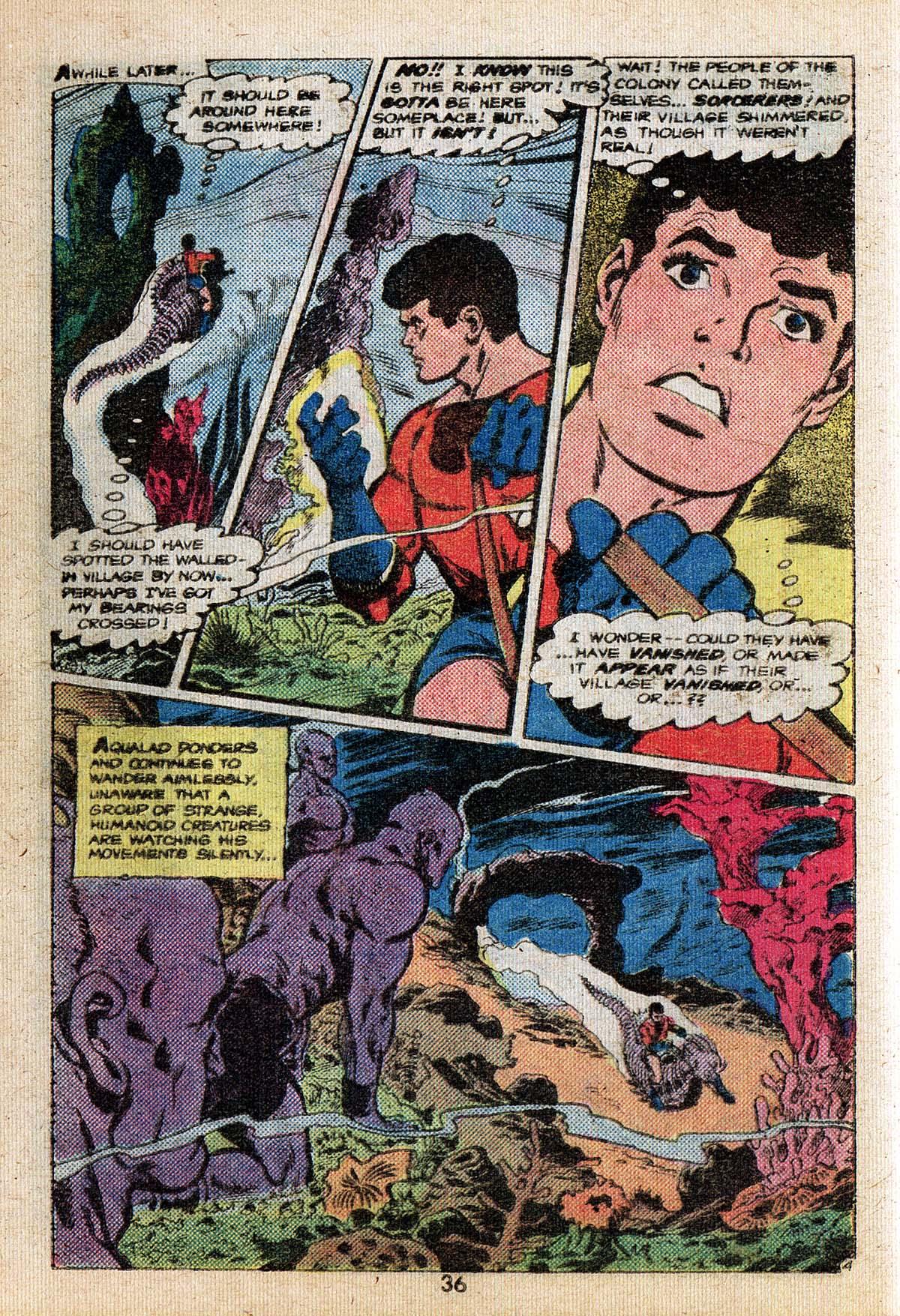 Read online Adventure Comics (1938) comic -  Issue #494 - 36