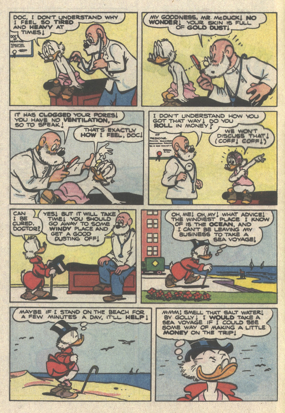 Read online Uncle Scrooge (1953) comic -  Issue #222 - 4