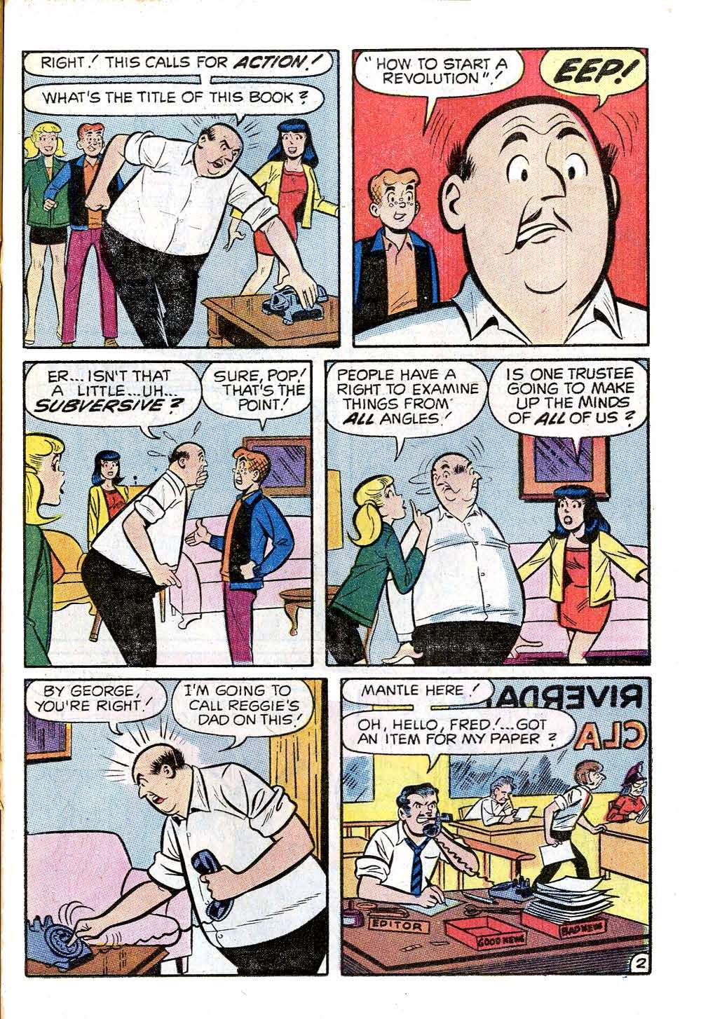 Read online Archie (1960) comic -  Issue #205 - 21