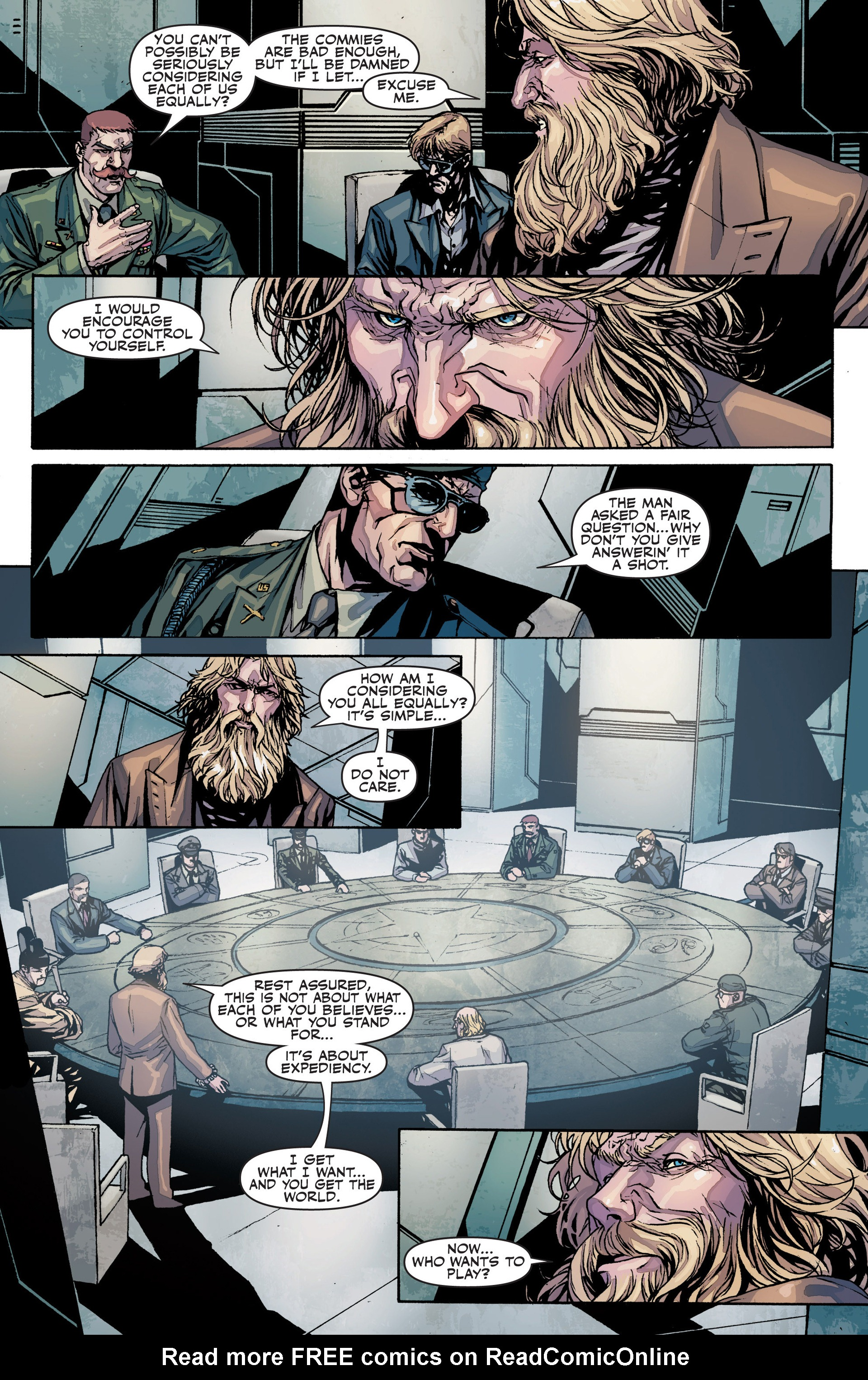 Read online Secret Warriors comic -  Issue #25 - 11