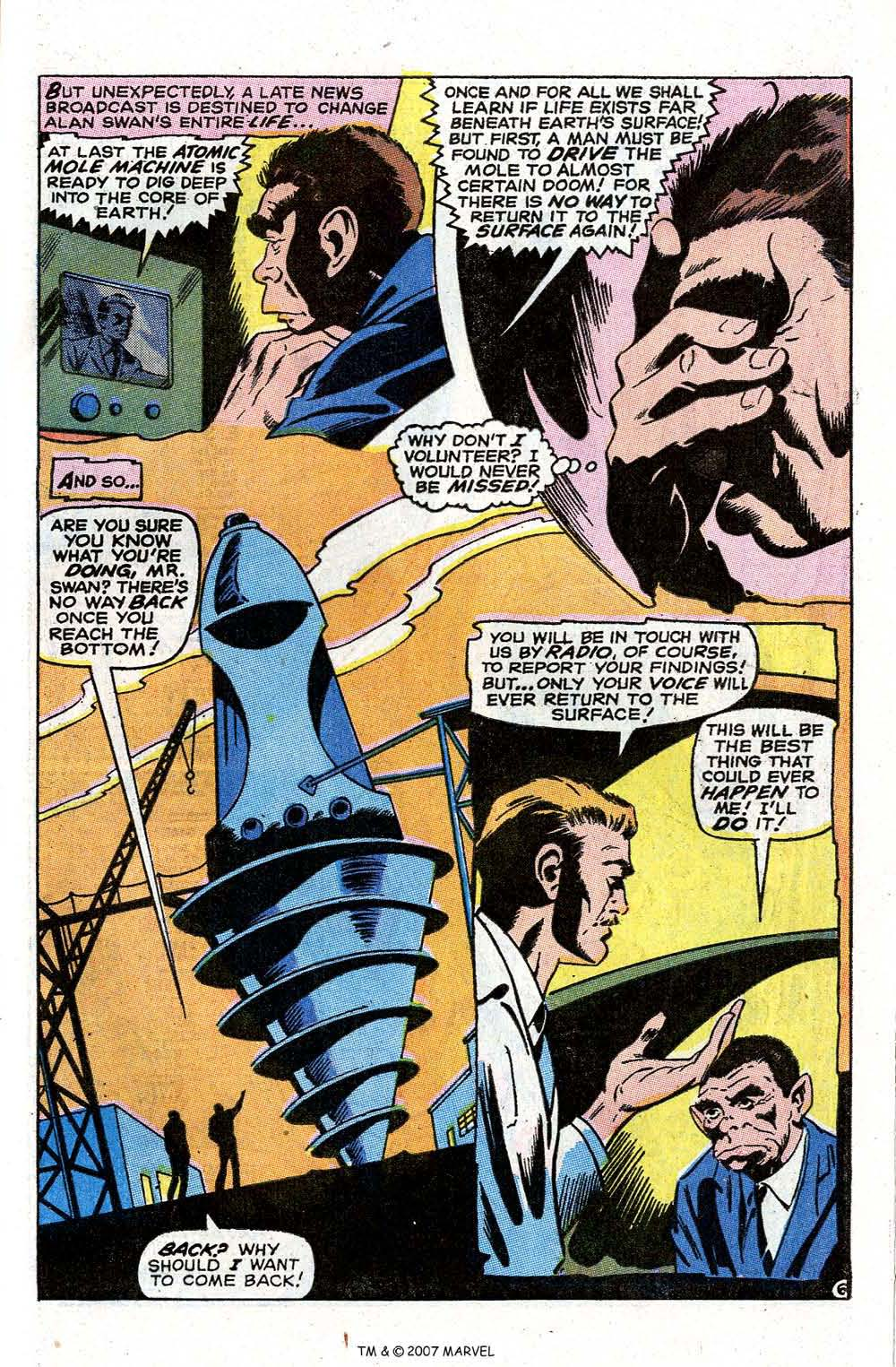 Read online Silver Surfer (1968) comic -  Issue #7 - 57