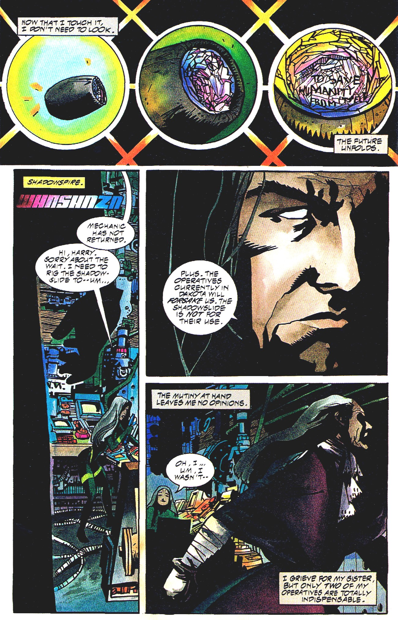 Read online Shadow Cabinet comic -  Issue #16 - 14