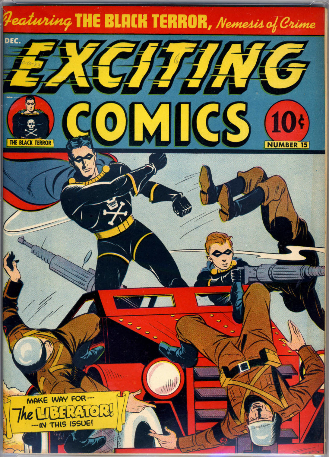 Exciting Comics (1940) issue 15 - Page 1