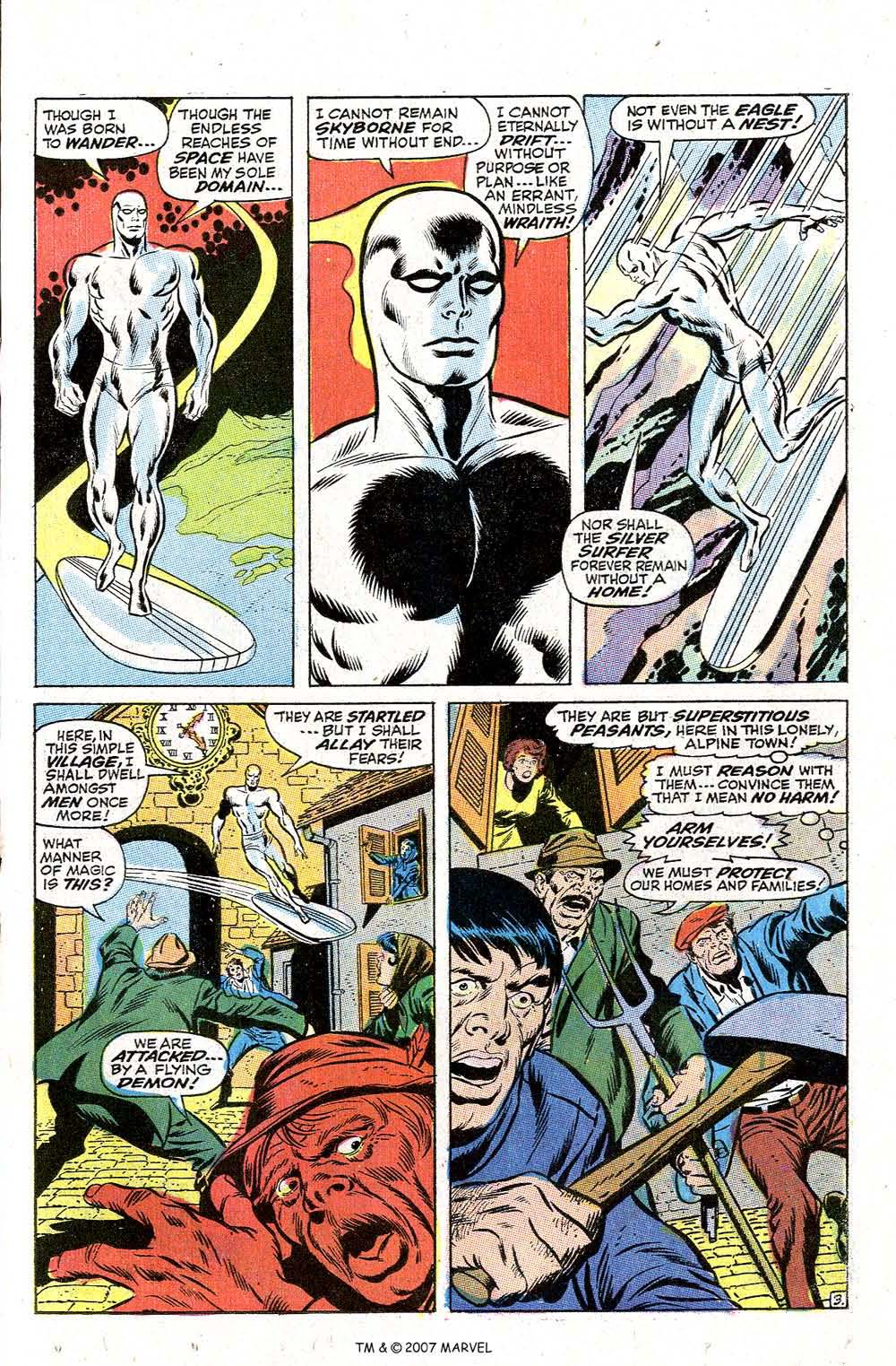 Read online Silver Surfer (1968) comic -  Issue #2 - 5