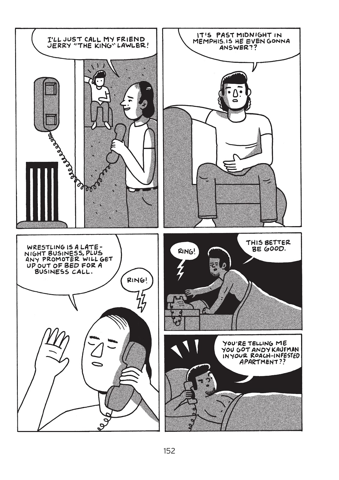 Read online Is This Guy For Real?: The Unbelievable Andy Kaufman comic -  Issue # TPB (Part 2) - 57