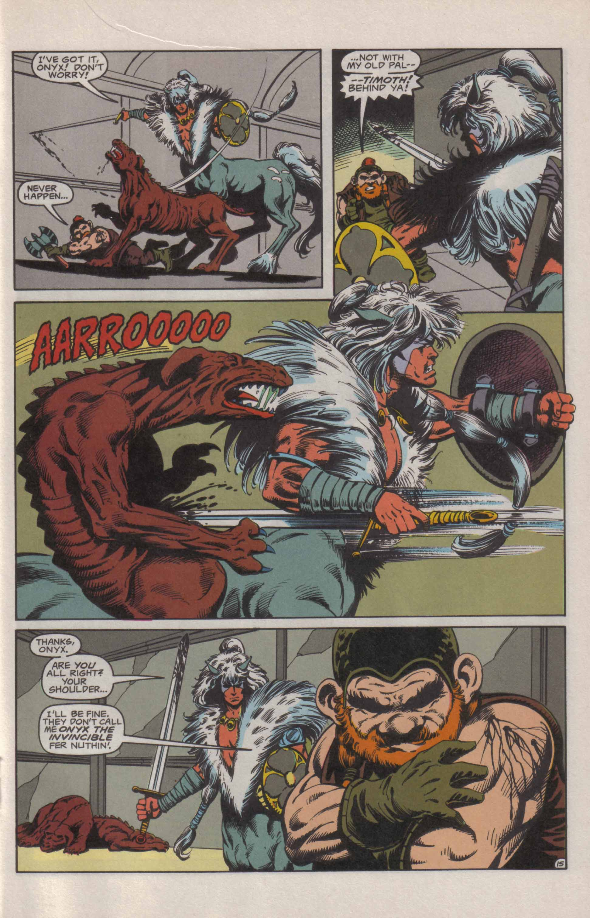 Read online Advanced Dungeons & Dragons comic -  Issue #21 - 16