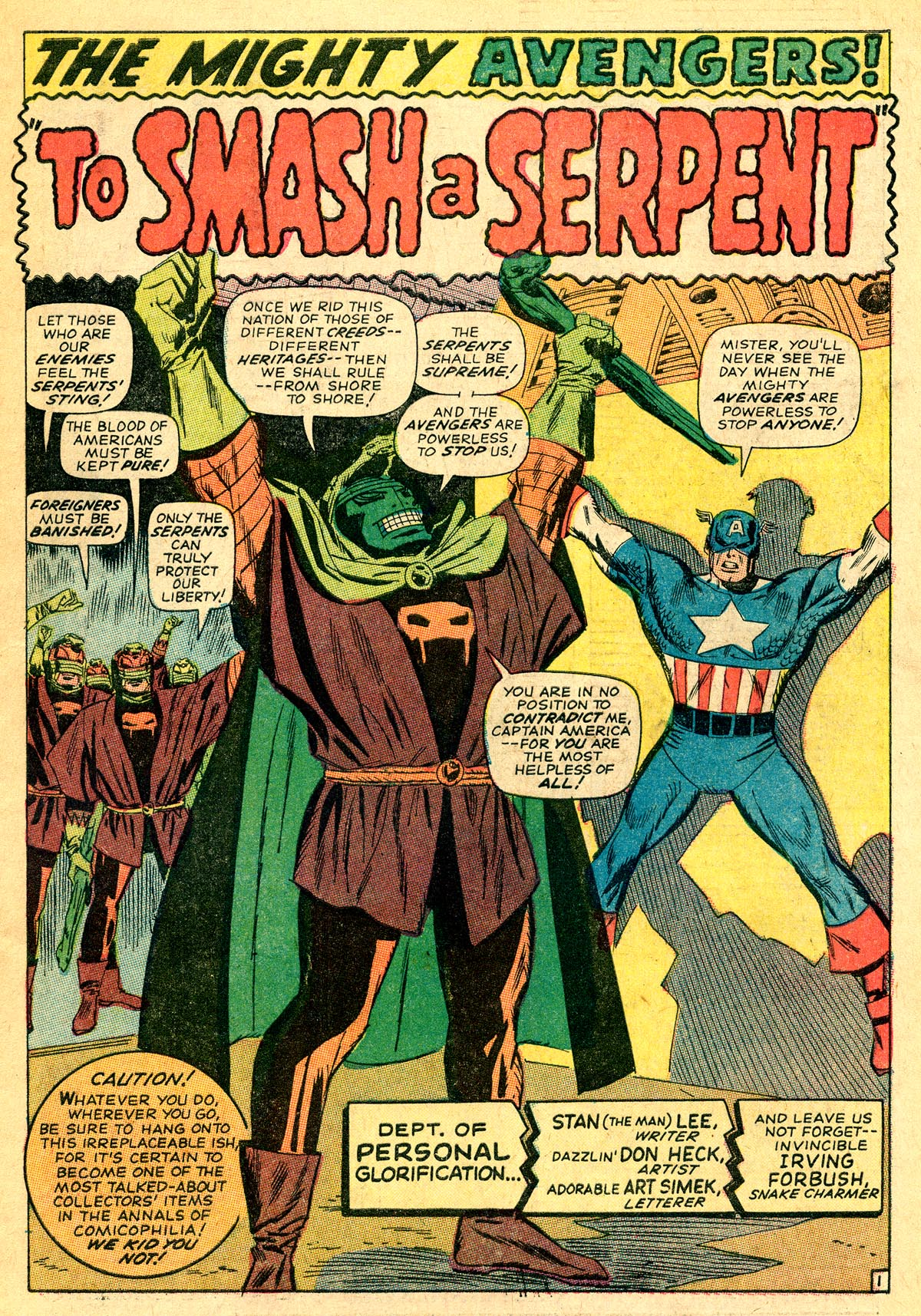 The Avengers (1963) 33 Page 1