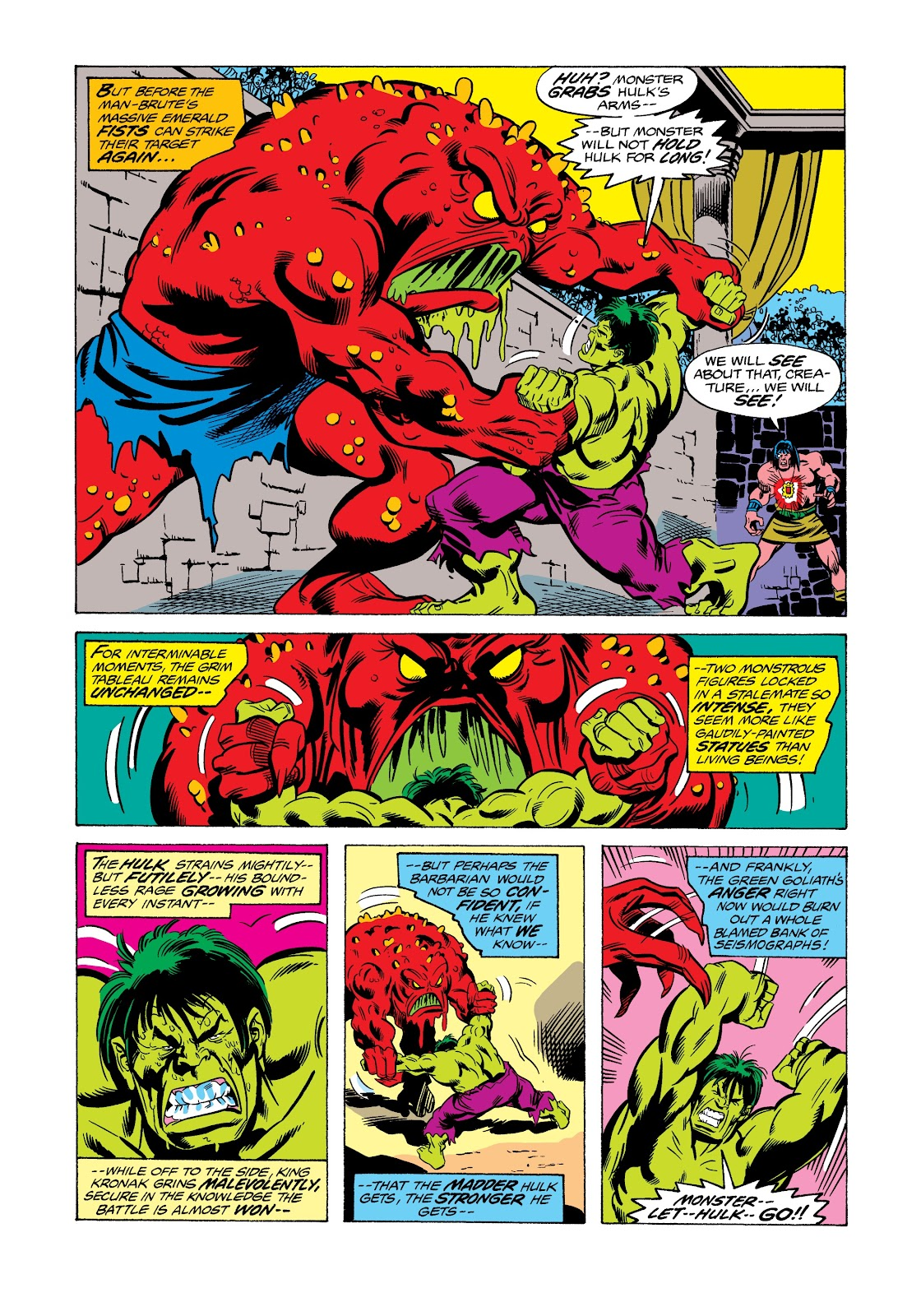 Read online Marvel Masterworks: The Incredible Hulk comic -  Issue # TPB 12 (Part 2) - 33