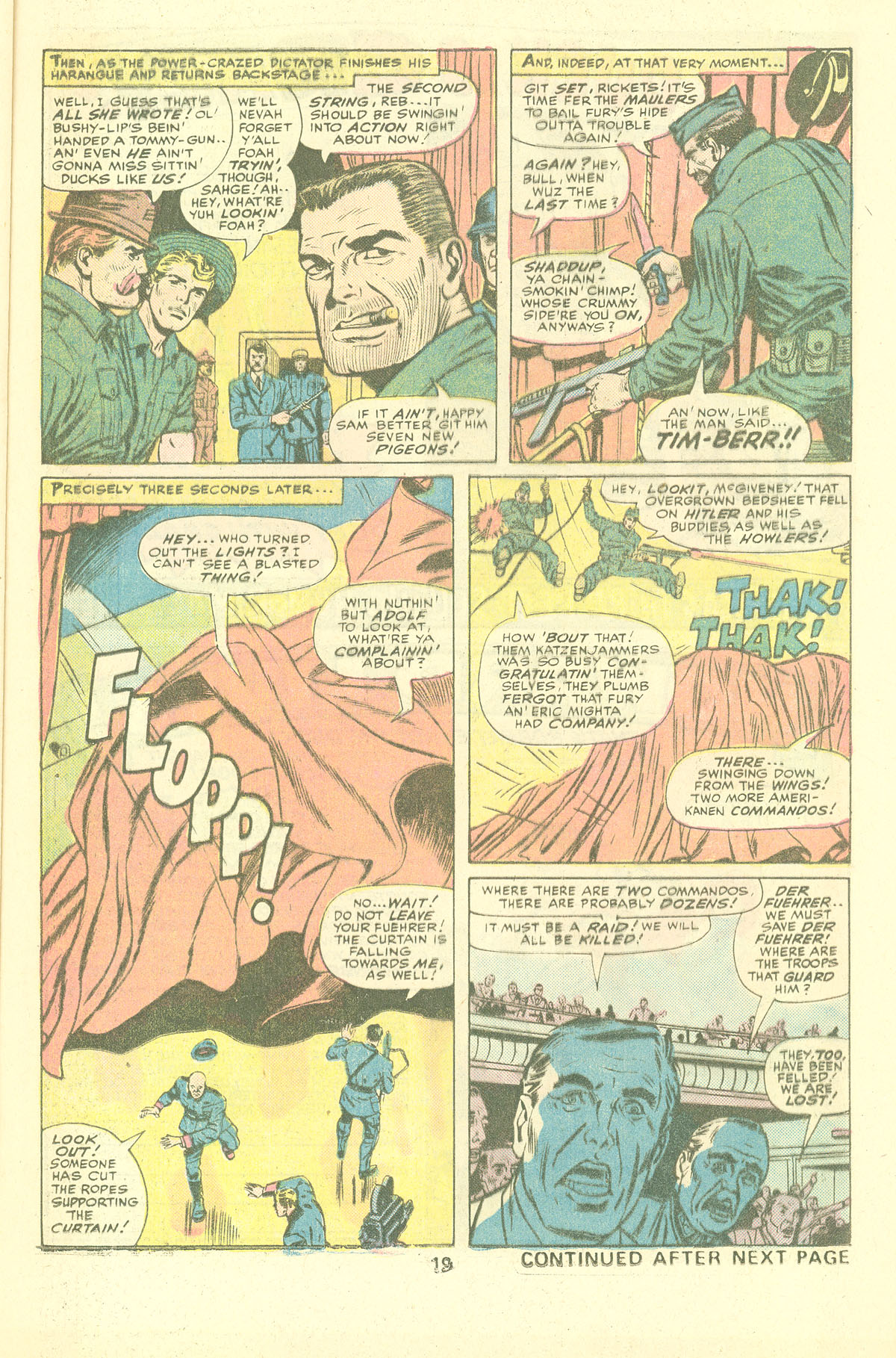 Read online Sgt. Fury comic -  Issue #137 - 21