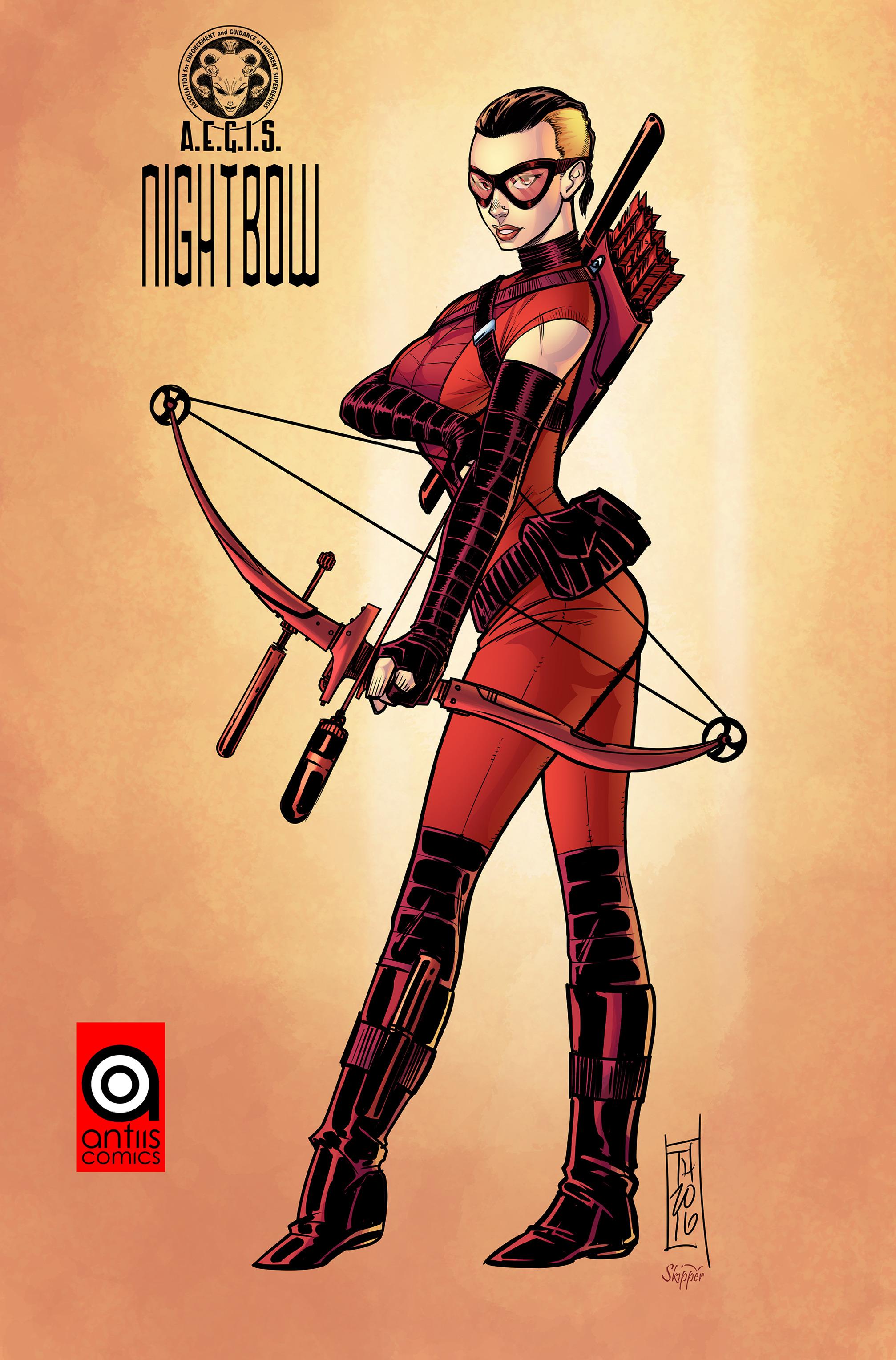 Read online Antiis Comics Presents, Vol. 1: Midknight comic -  Issue #Antiis Comics Presents, Vol. 1: Midknight Full - 32
